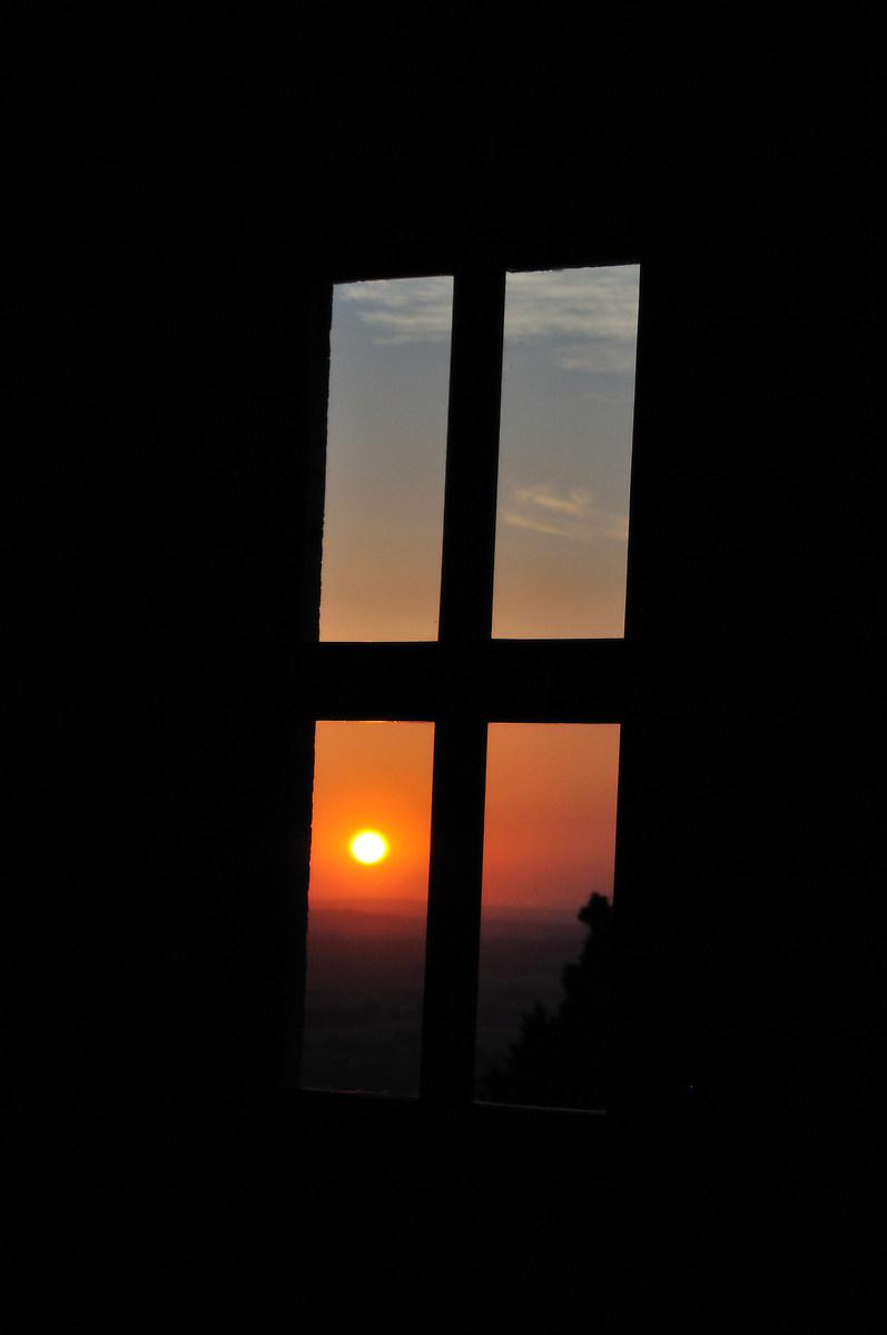 through the twilight mirror...