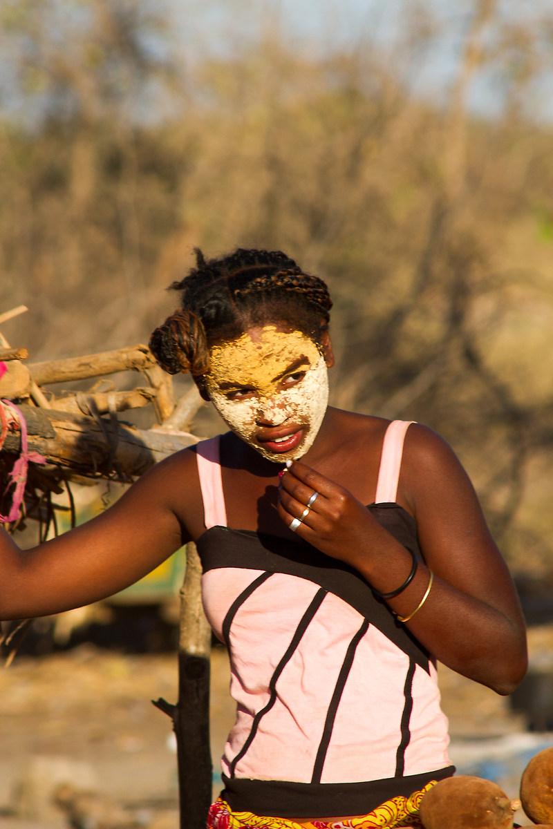 Beauty mask...