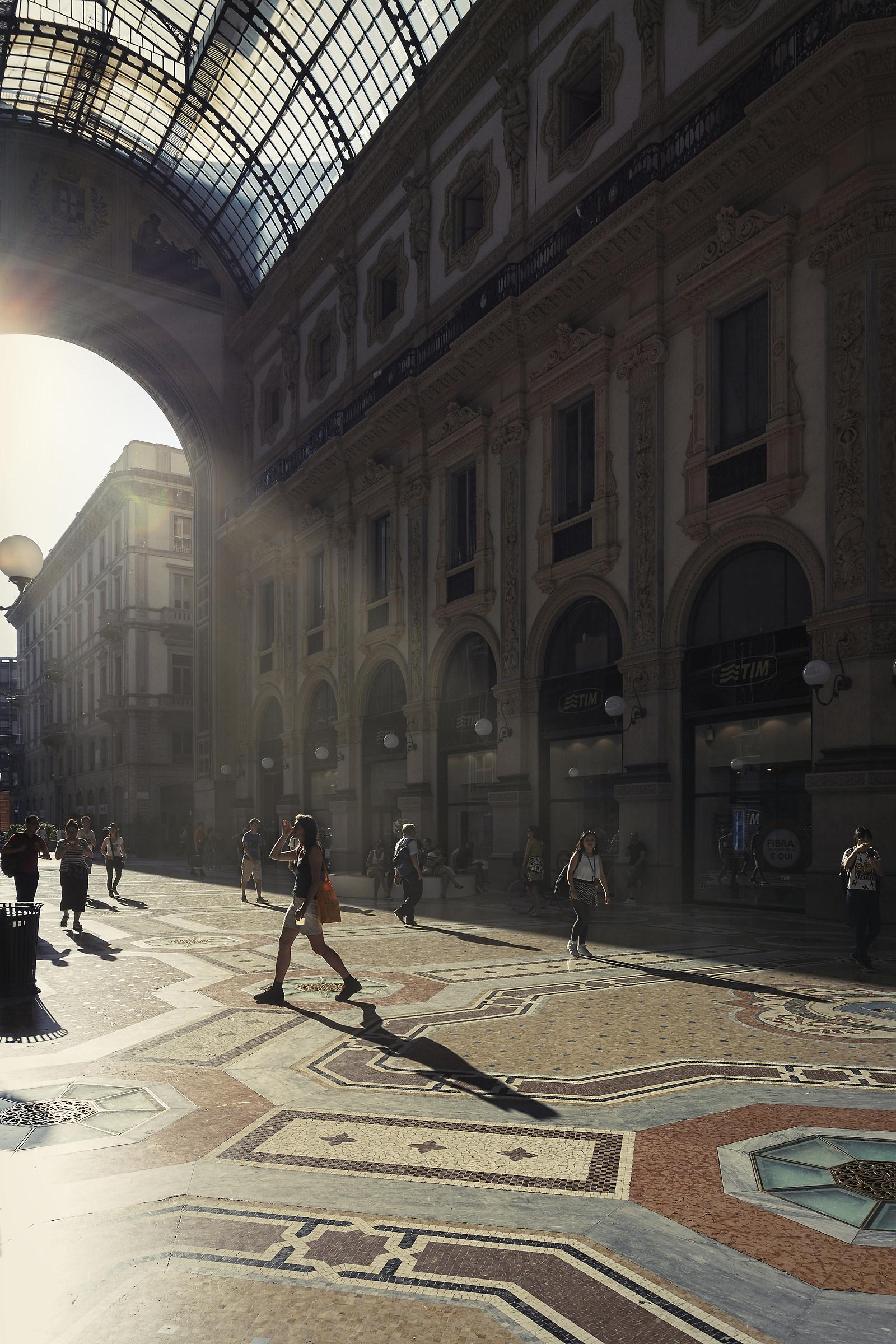 Shadows in gallery...