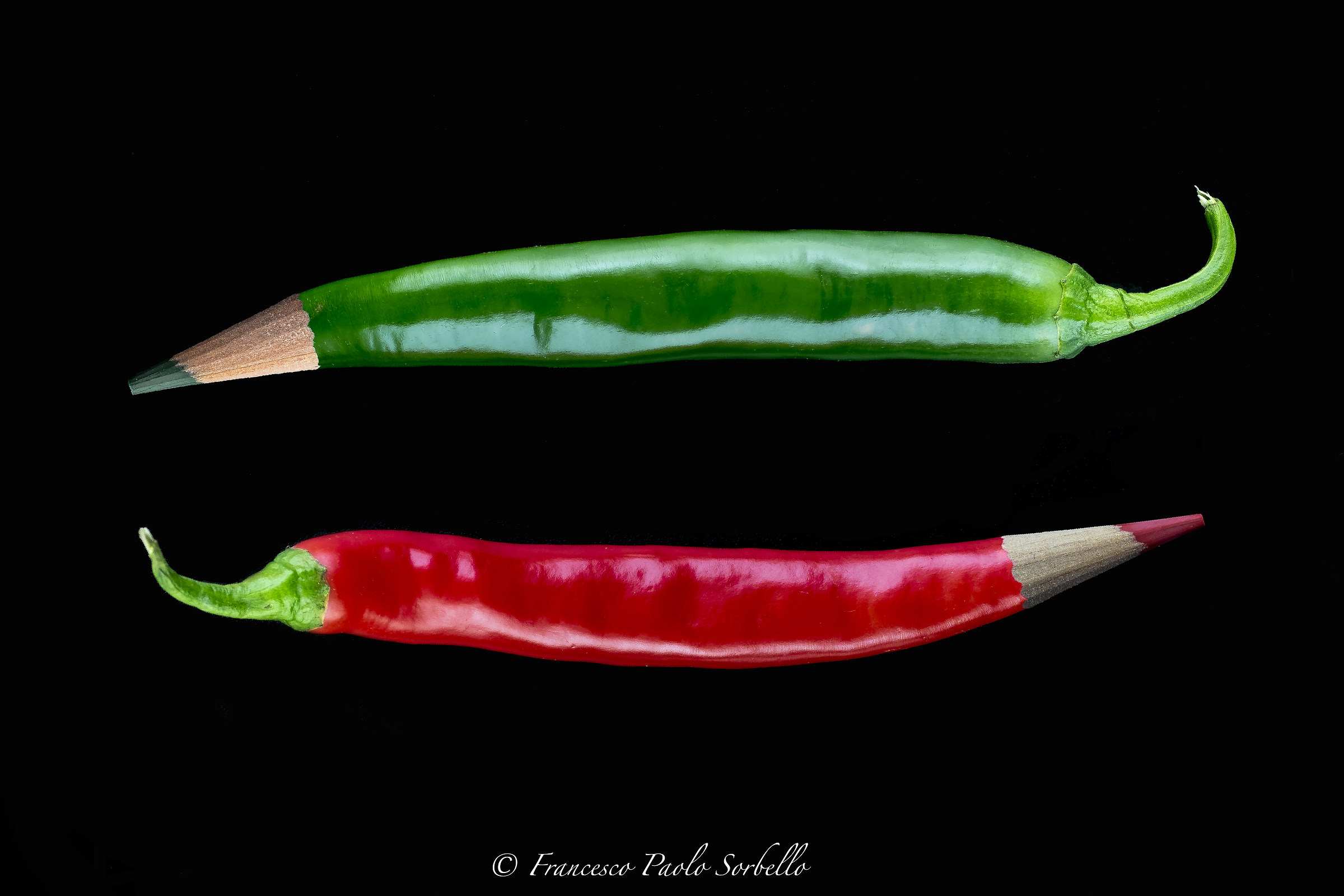 colored peppers...