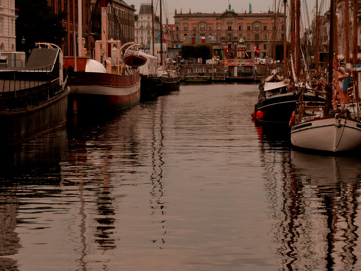 port and city copenhagen...