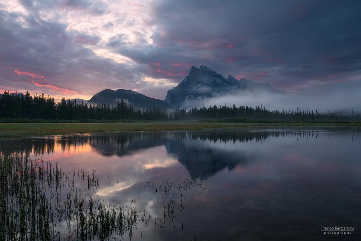 Vermilion Lakes sunrise...