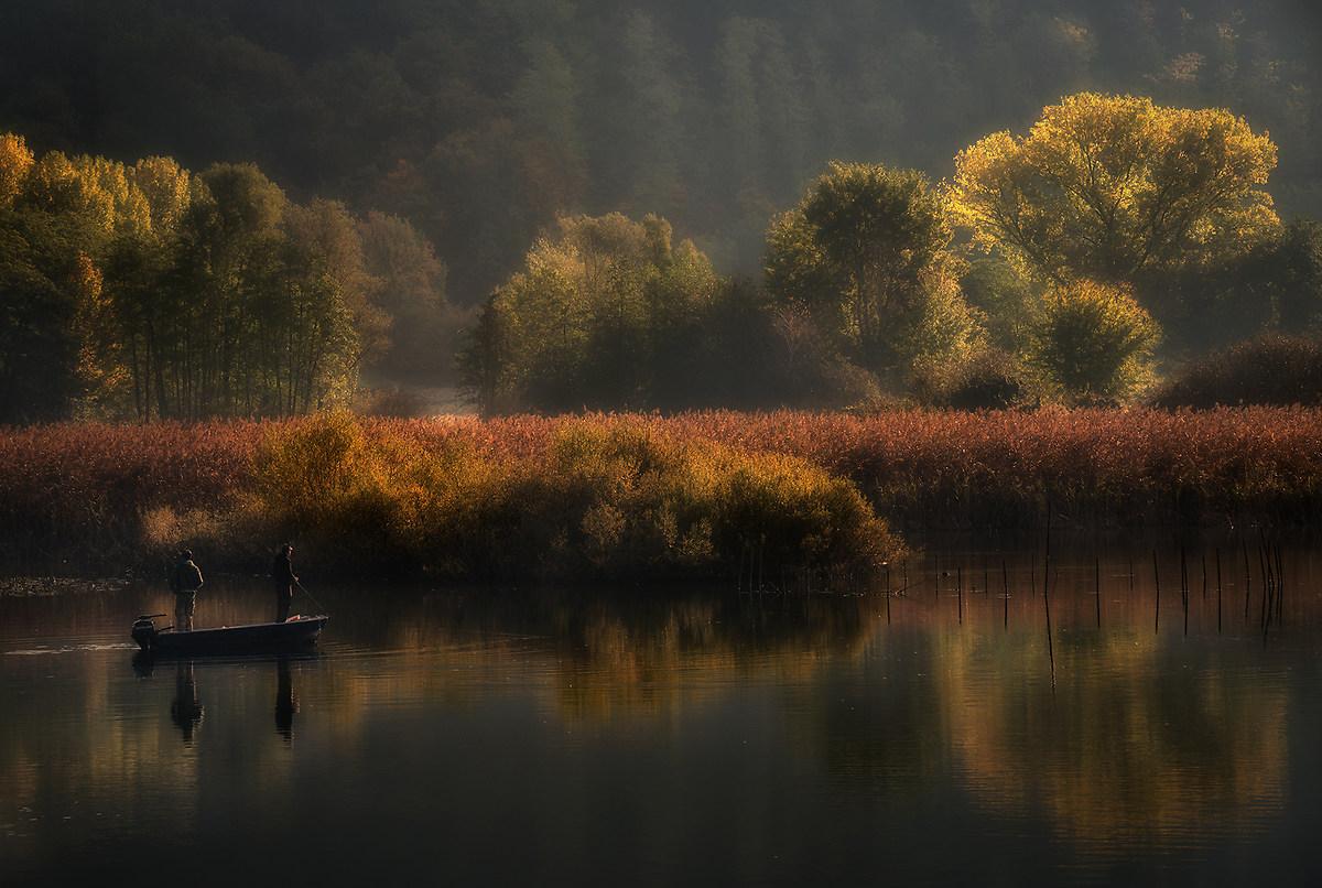 Fishing autumn...