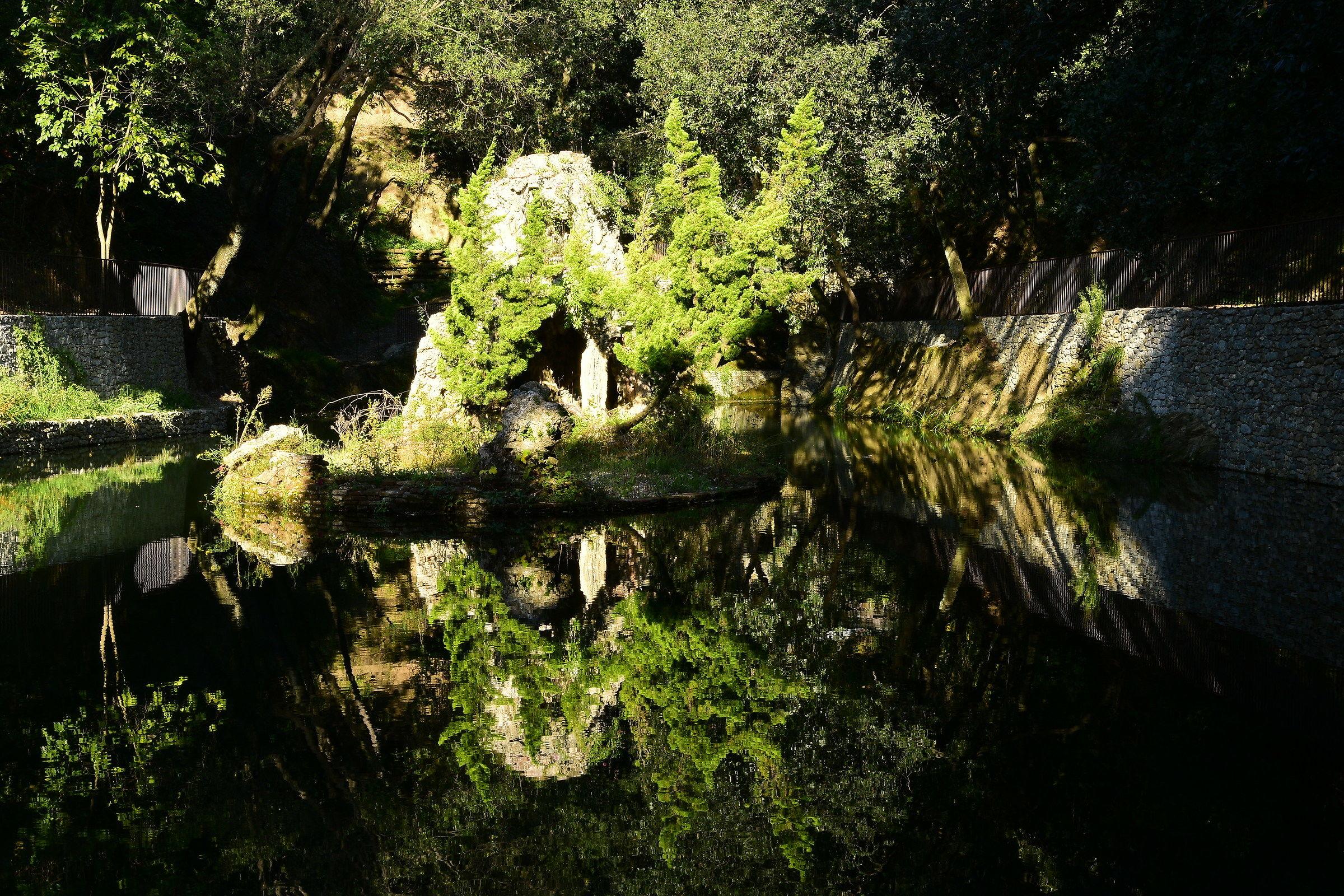 Pond....