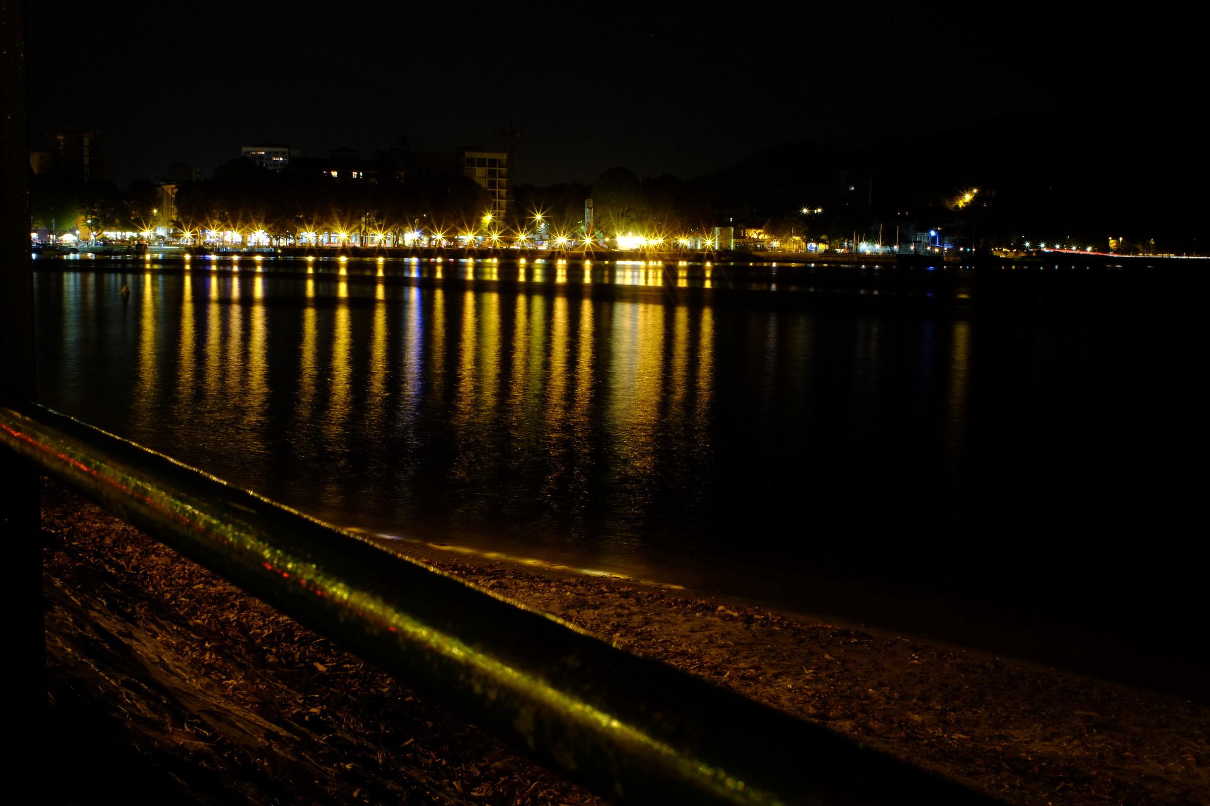 Lecco evening, November...
