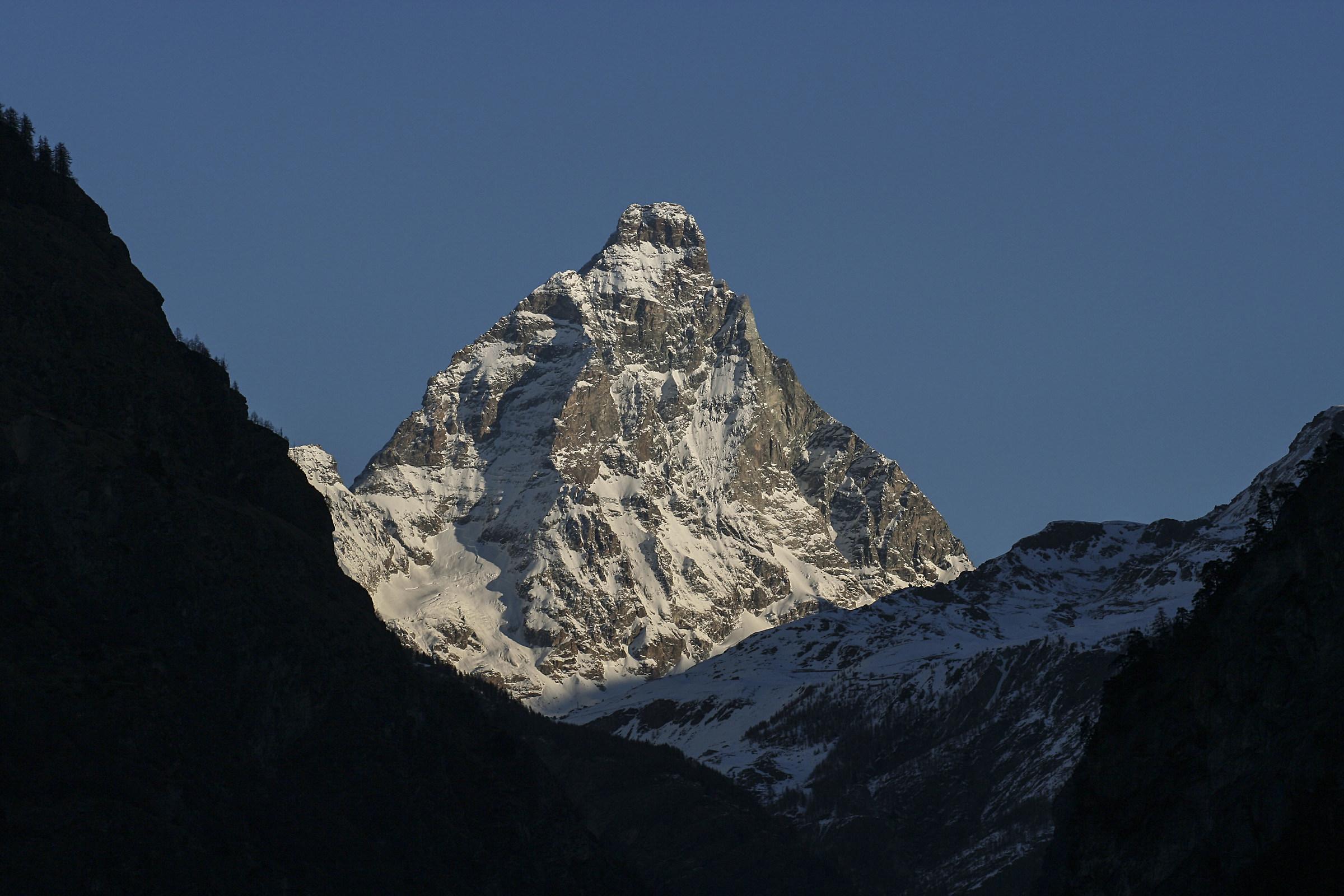 the Matterhorn from Torgnon...