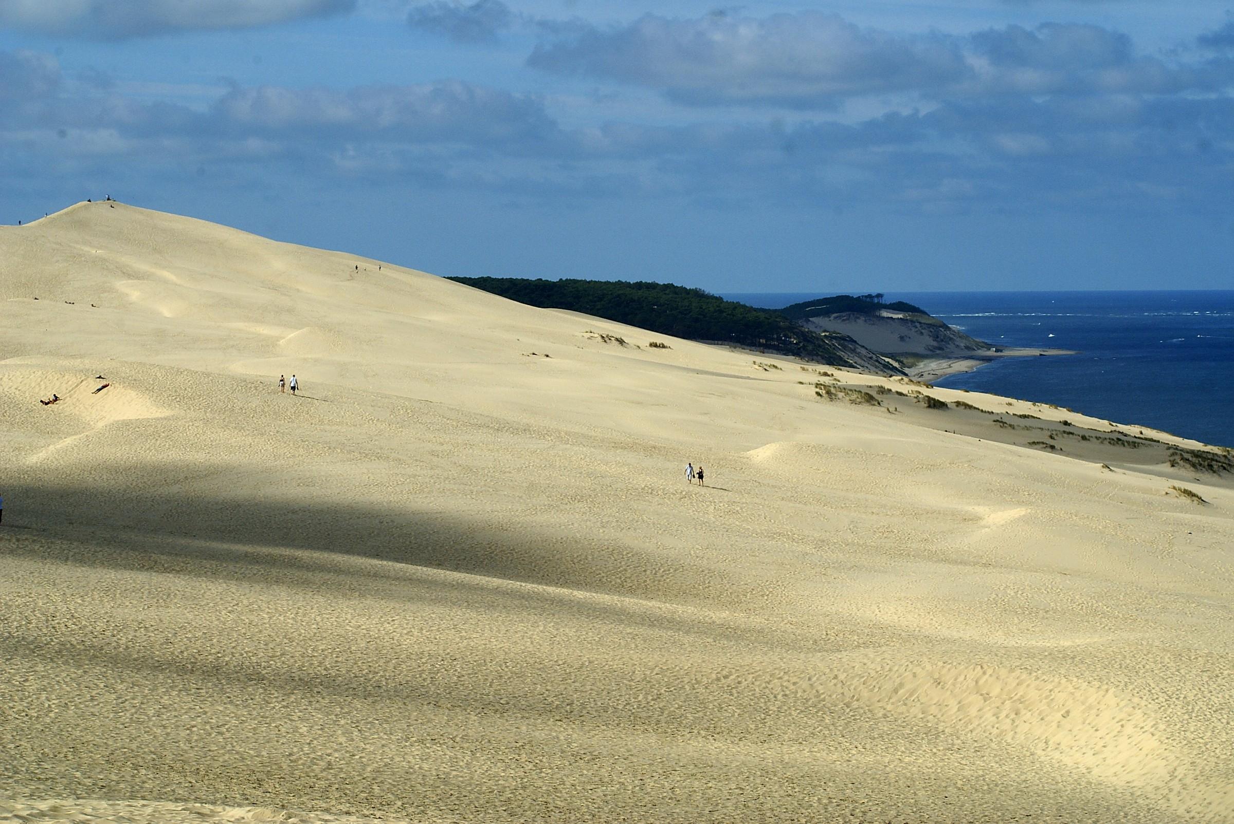 Effetto deserto: Duna di Pila o Pilat...