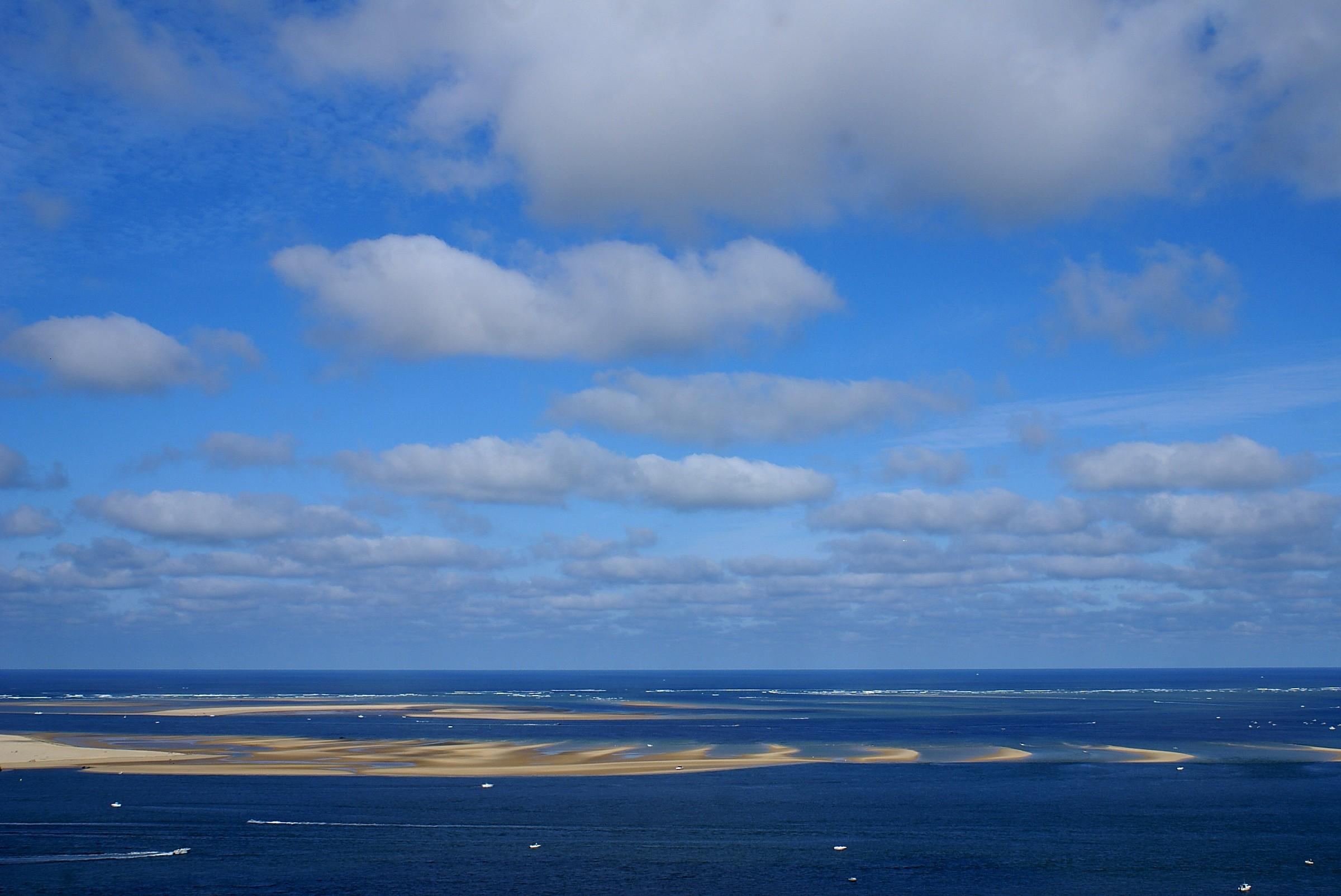Oceano  e sabbia giocano a rimpiattino: Banc d'Arguin...