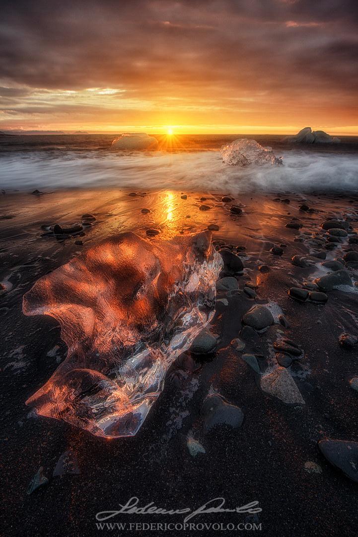 Ice Sunrise...