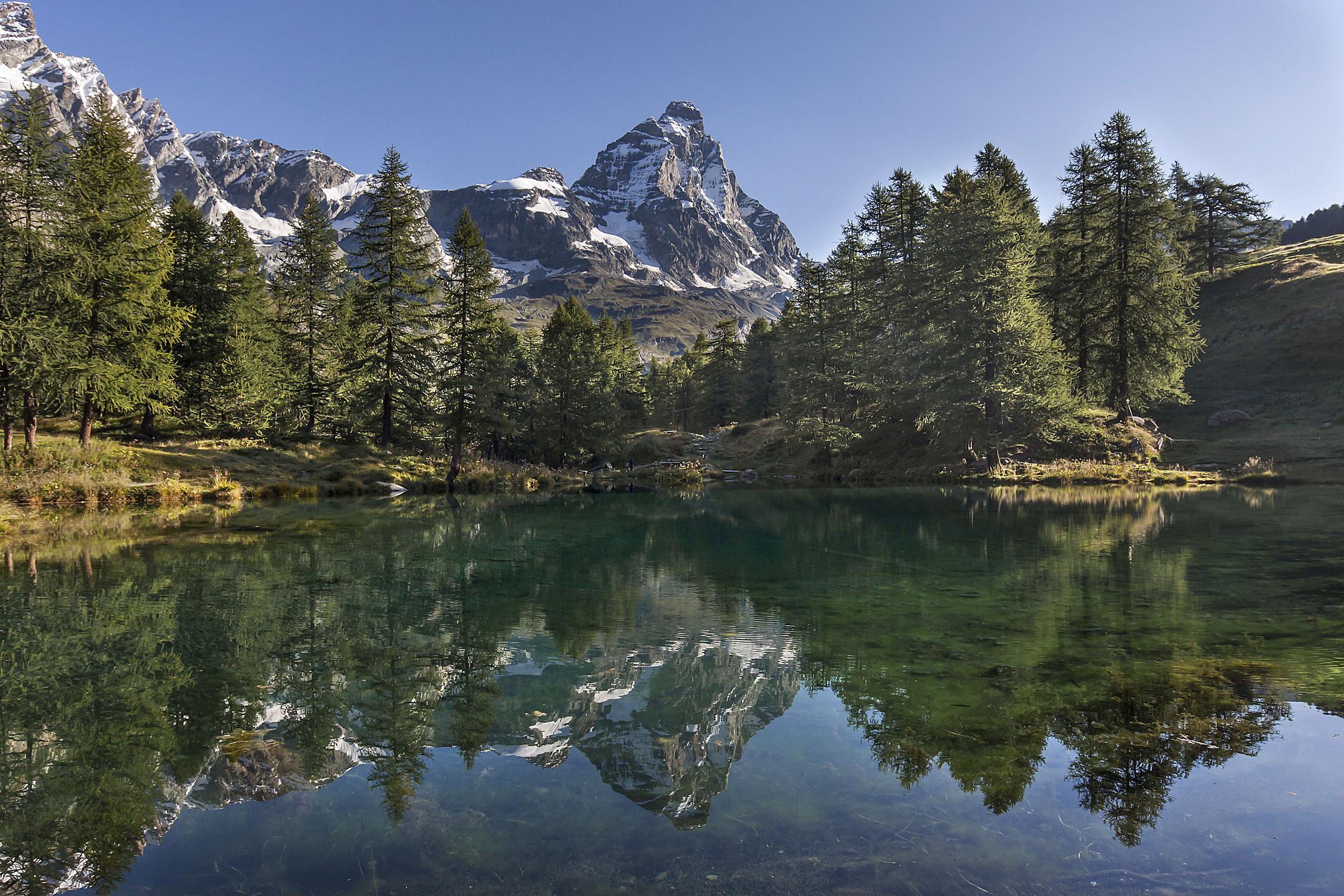 Blue Lake, classic...