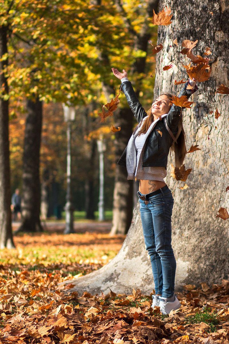sabrina in autumn...
