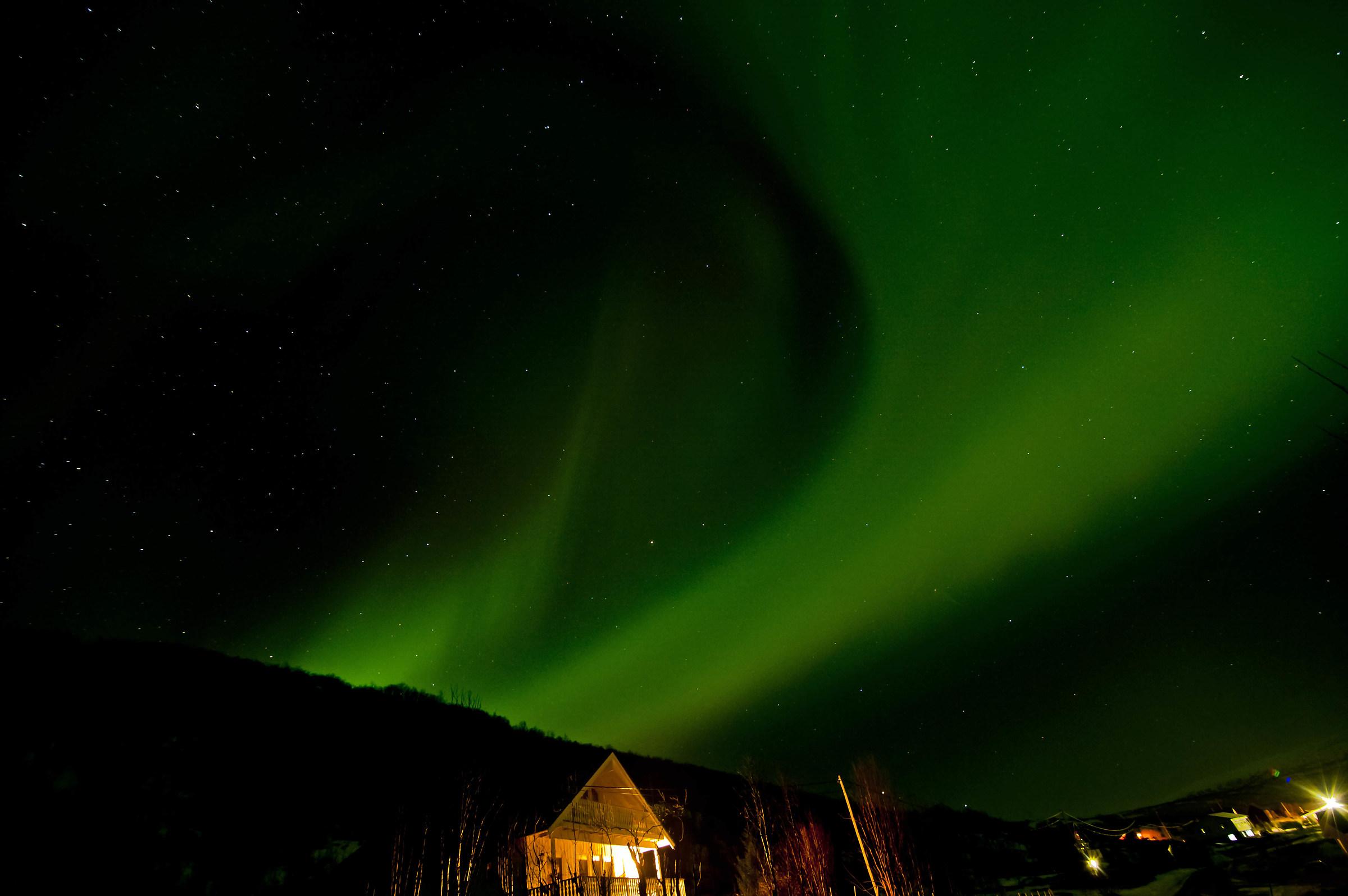 Aurora boreale! !...
