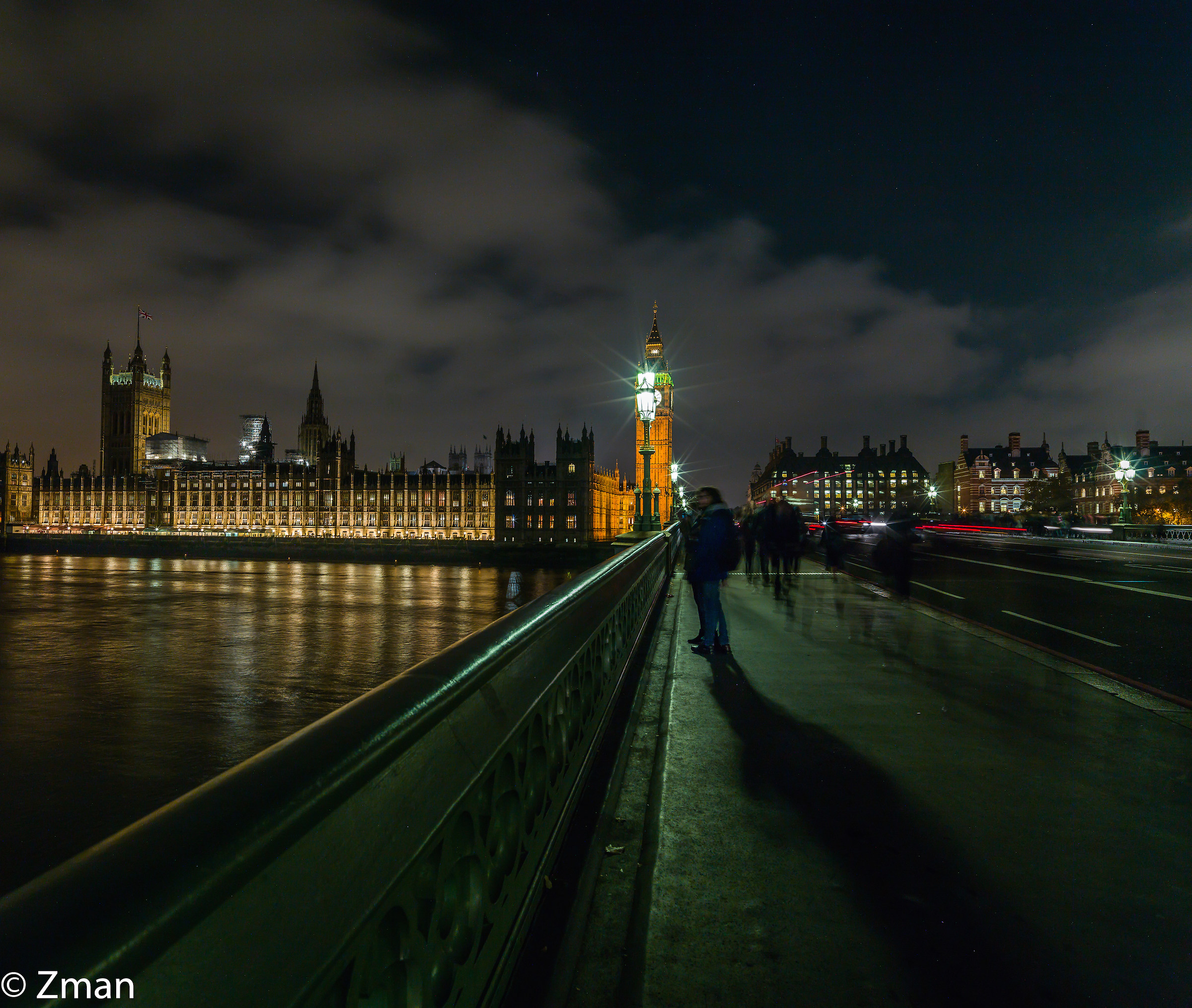 On London Bridge...