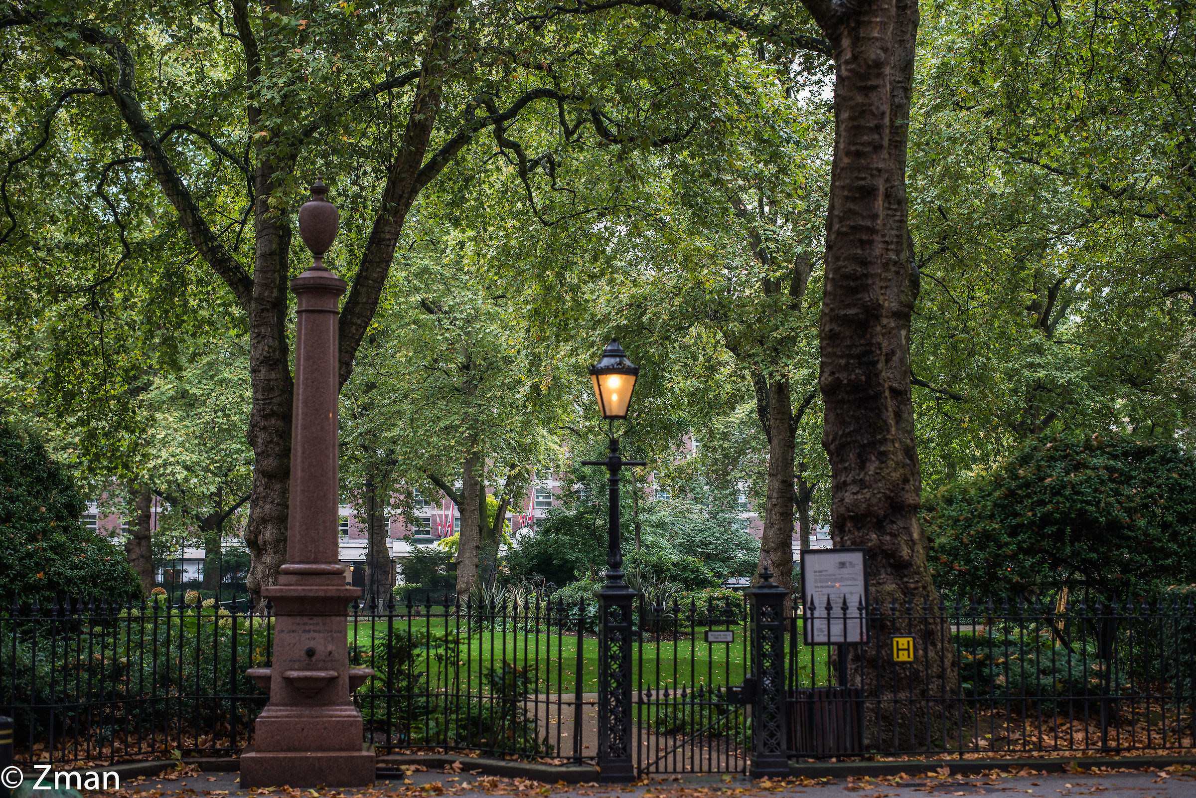 The Gate to The Park...