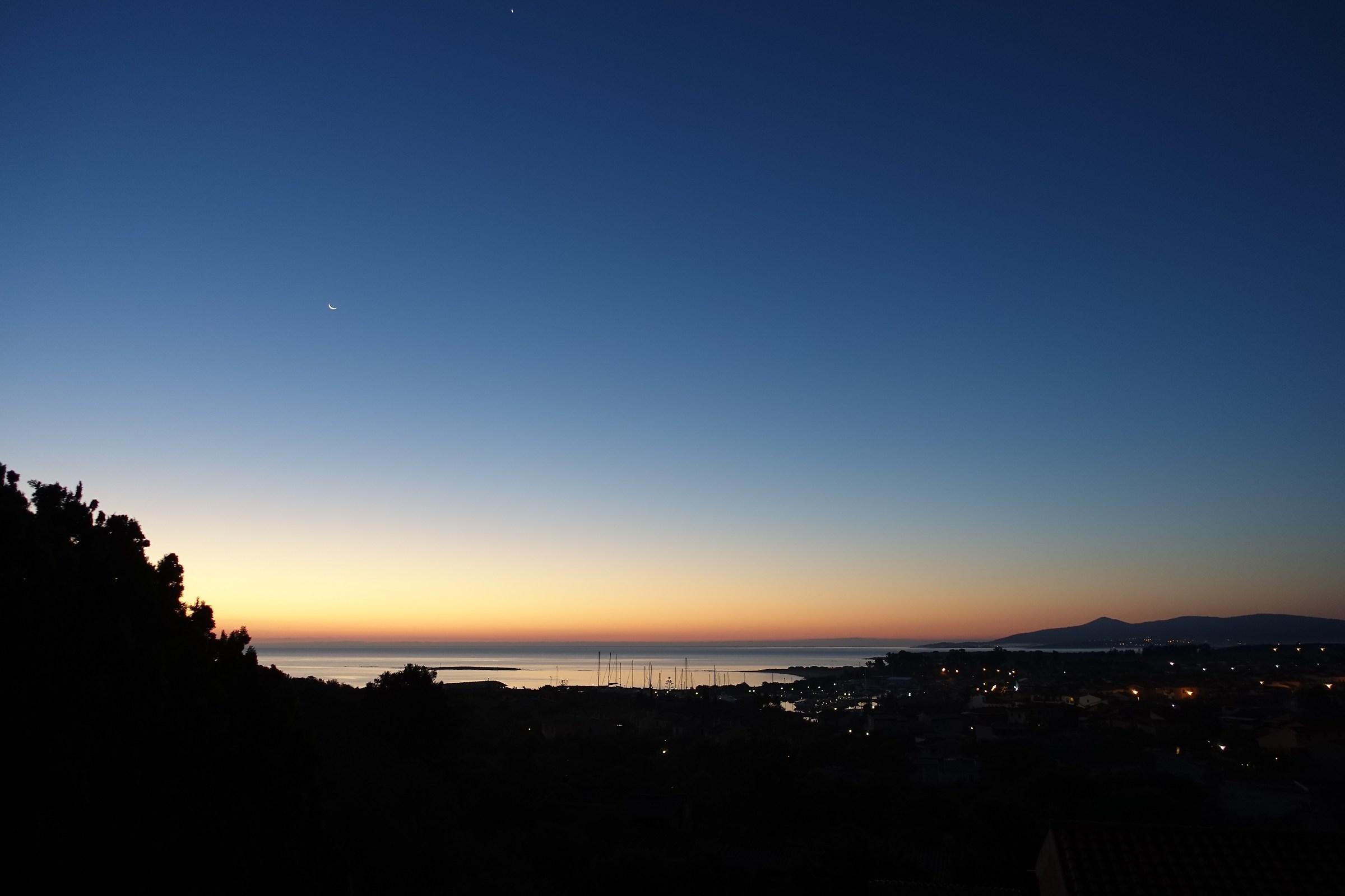 alba di un giorno sereno...