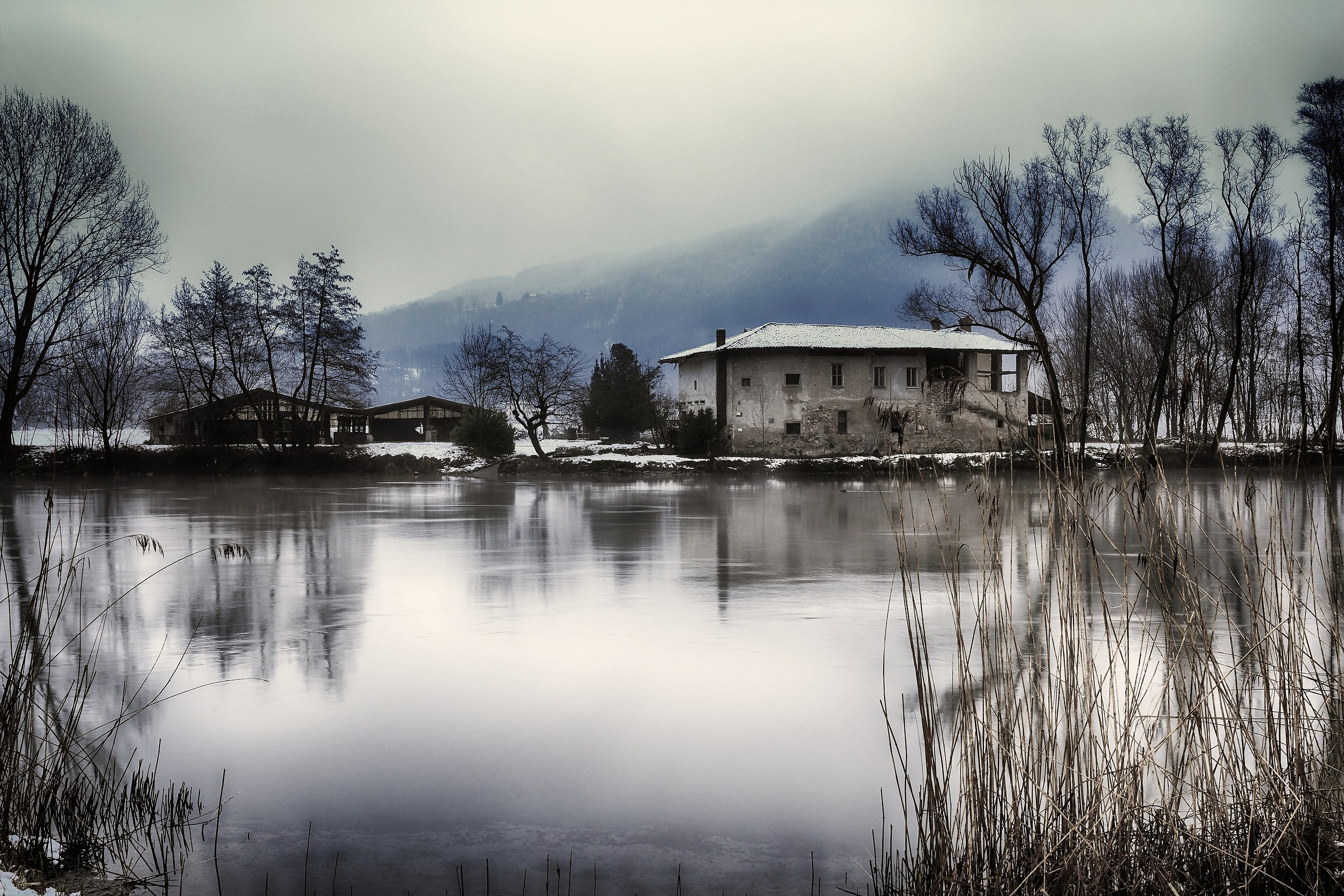 The old farmhouse...