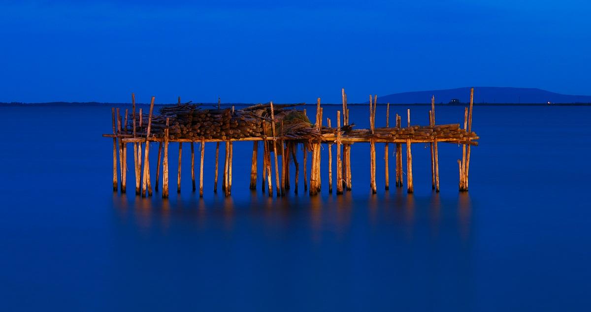Lake Lesina - twilight...