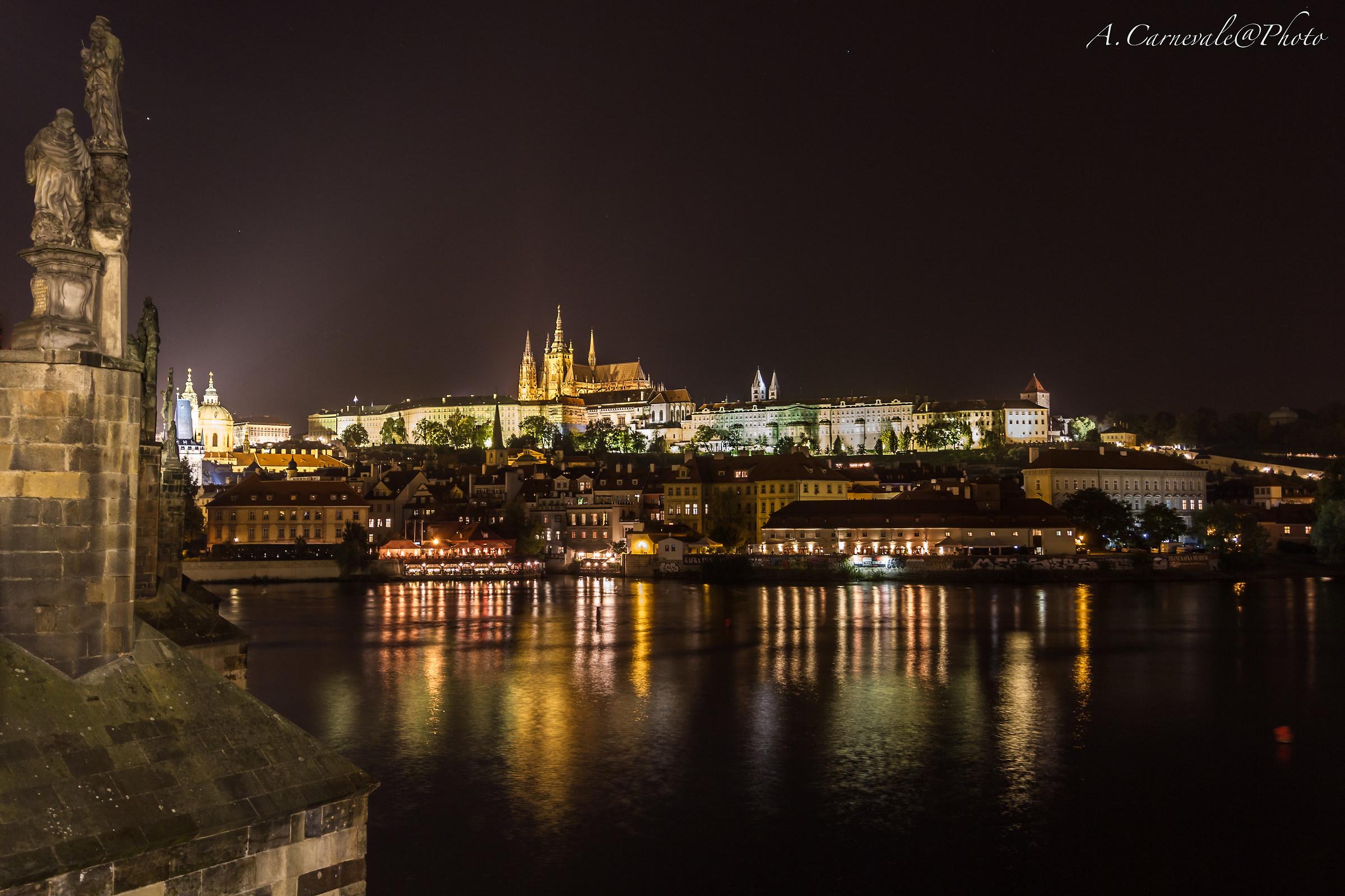 Prague at night ......