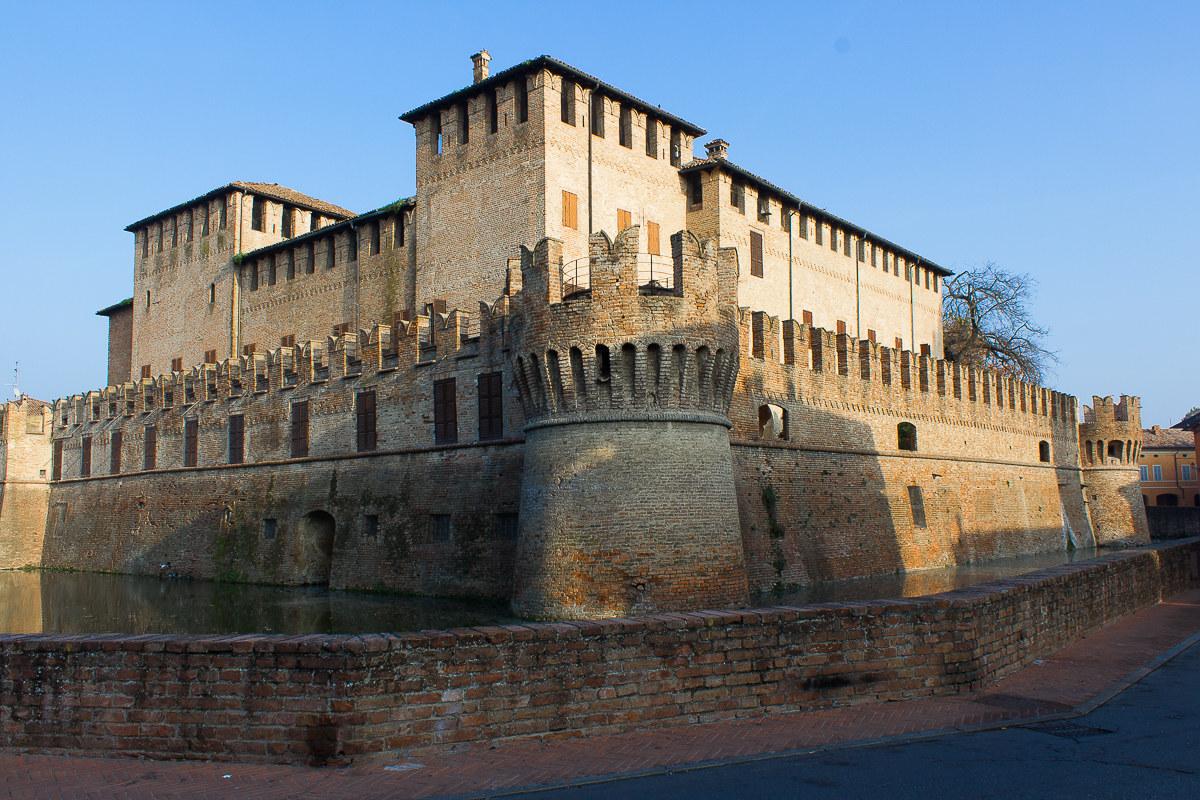Castle of Fontanellato...