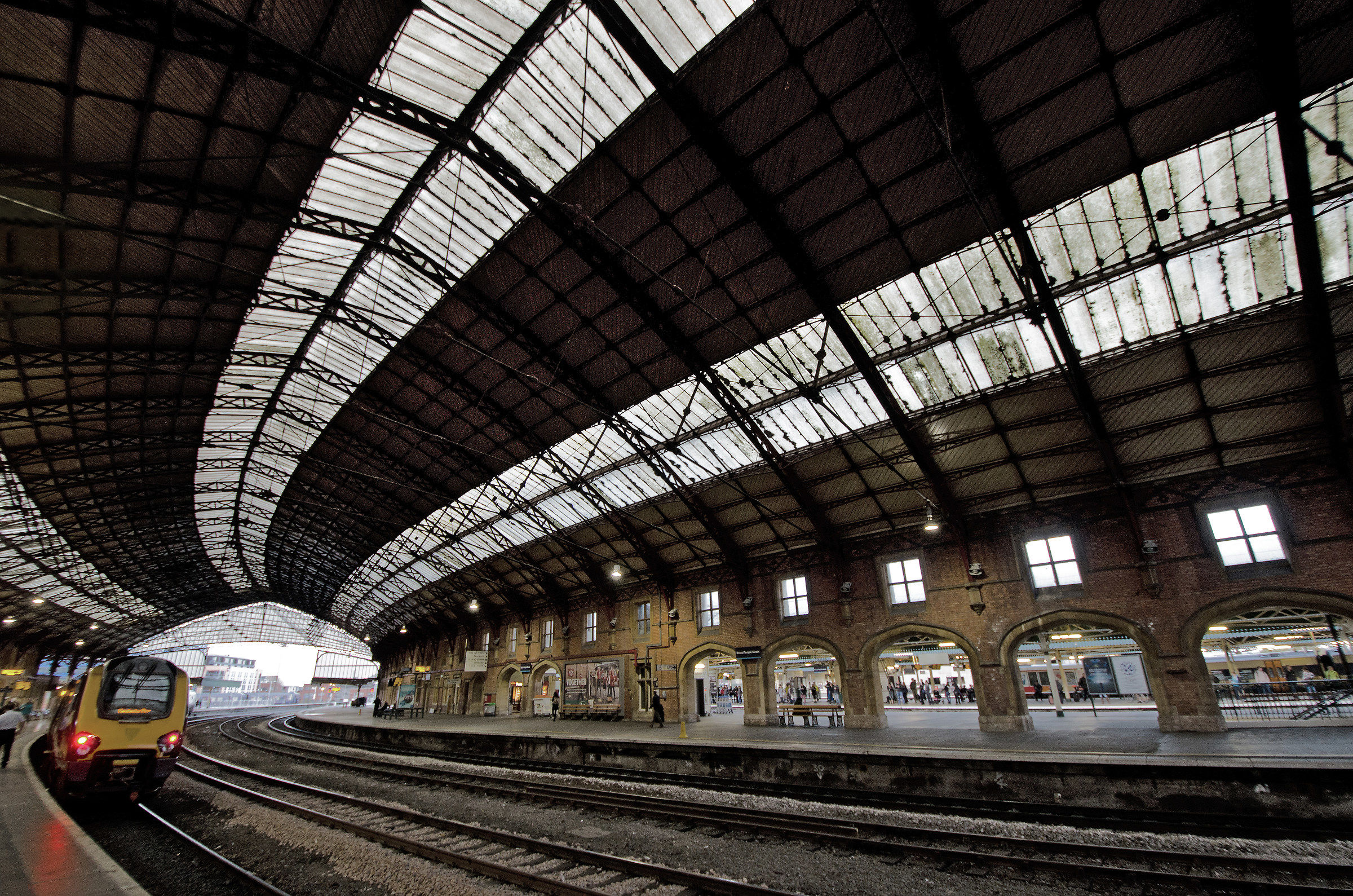 Temple Meads Station...