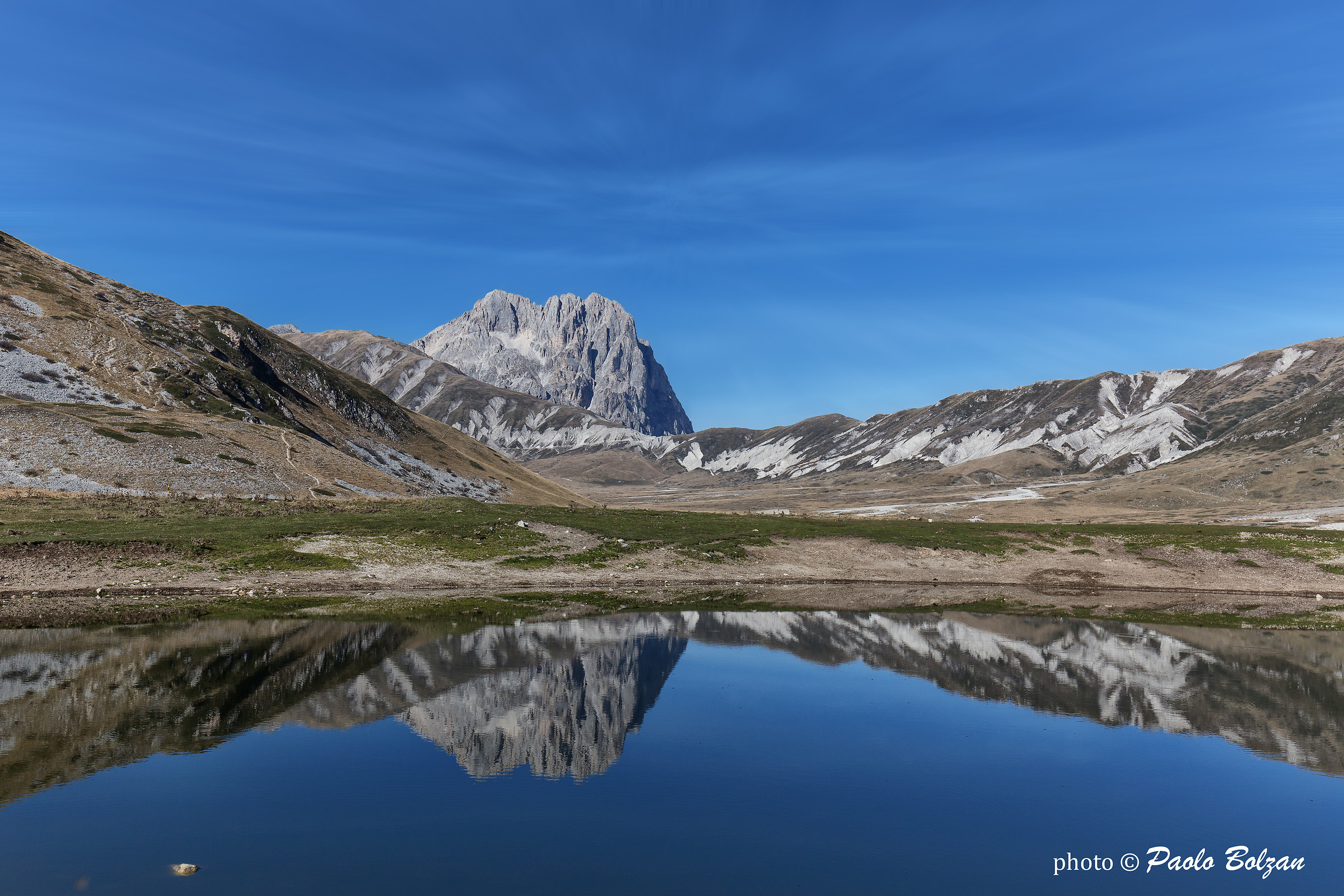 Reflection of the Gran Sasso...
