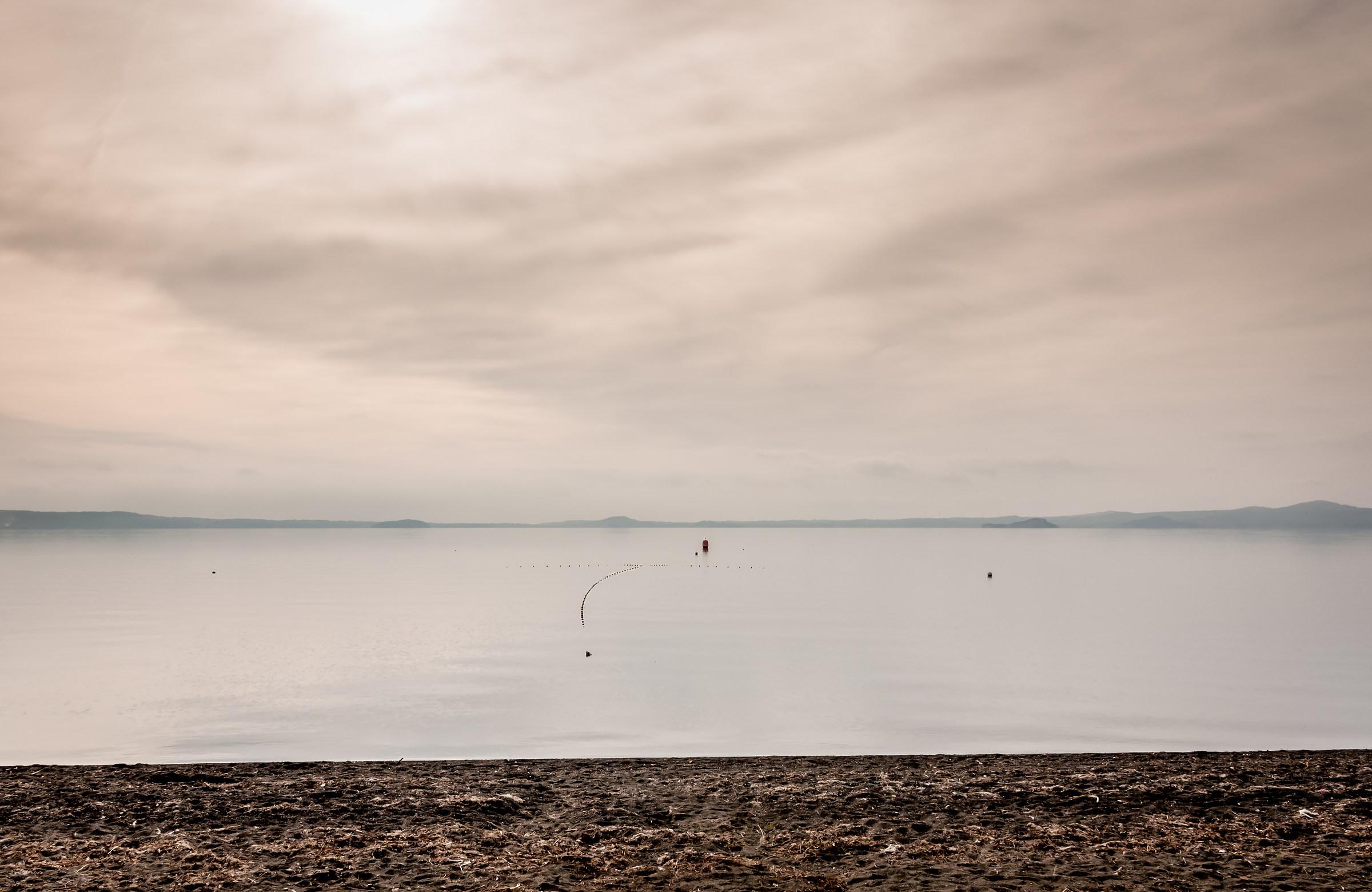 Mist on the lake...