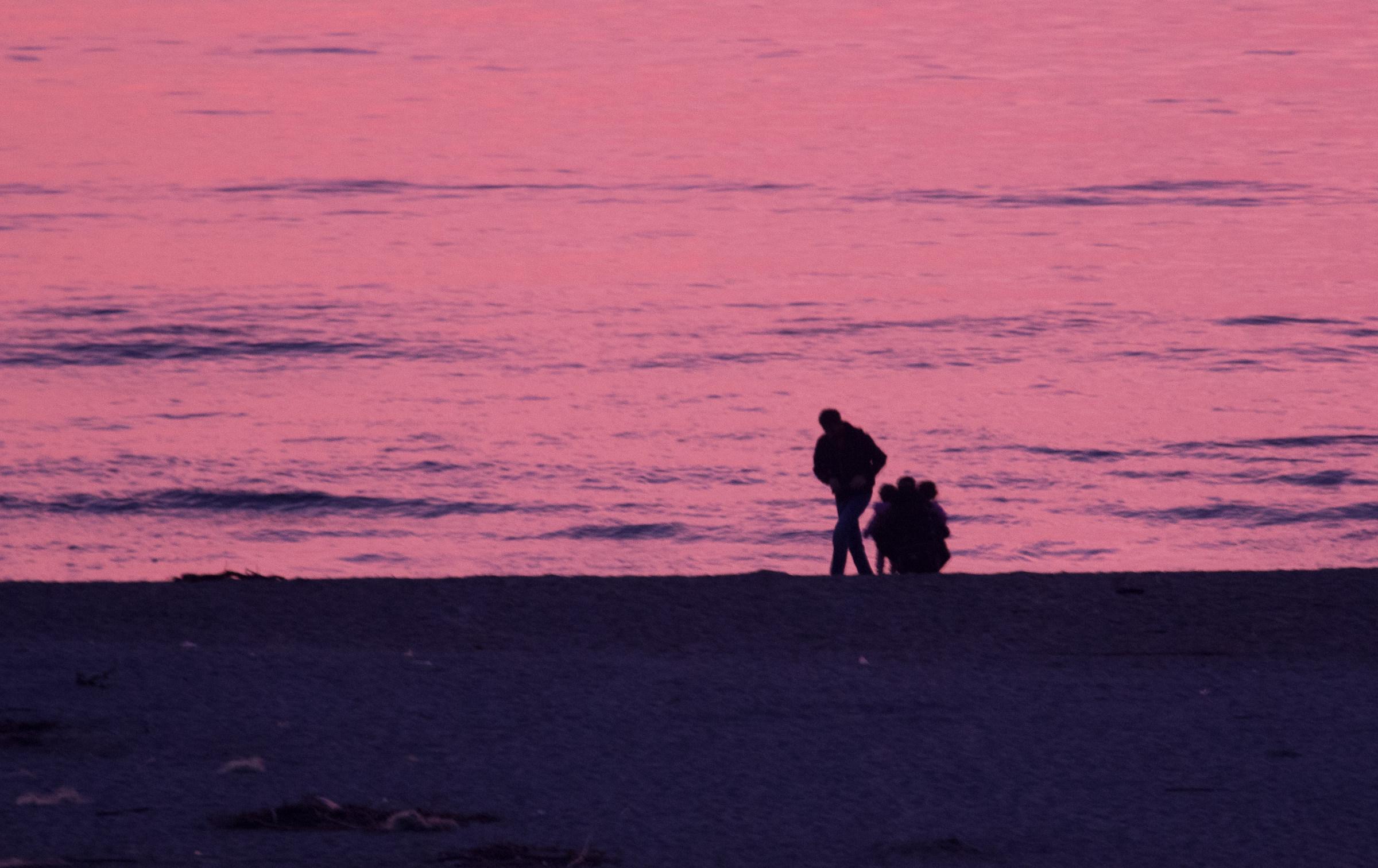 Sulla spiaggia...