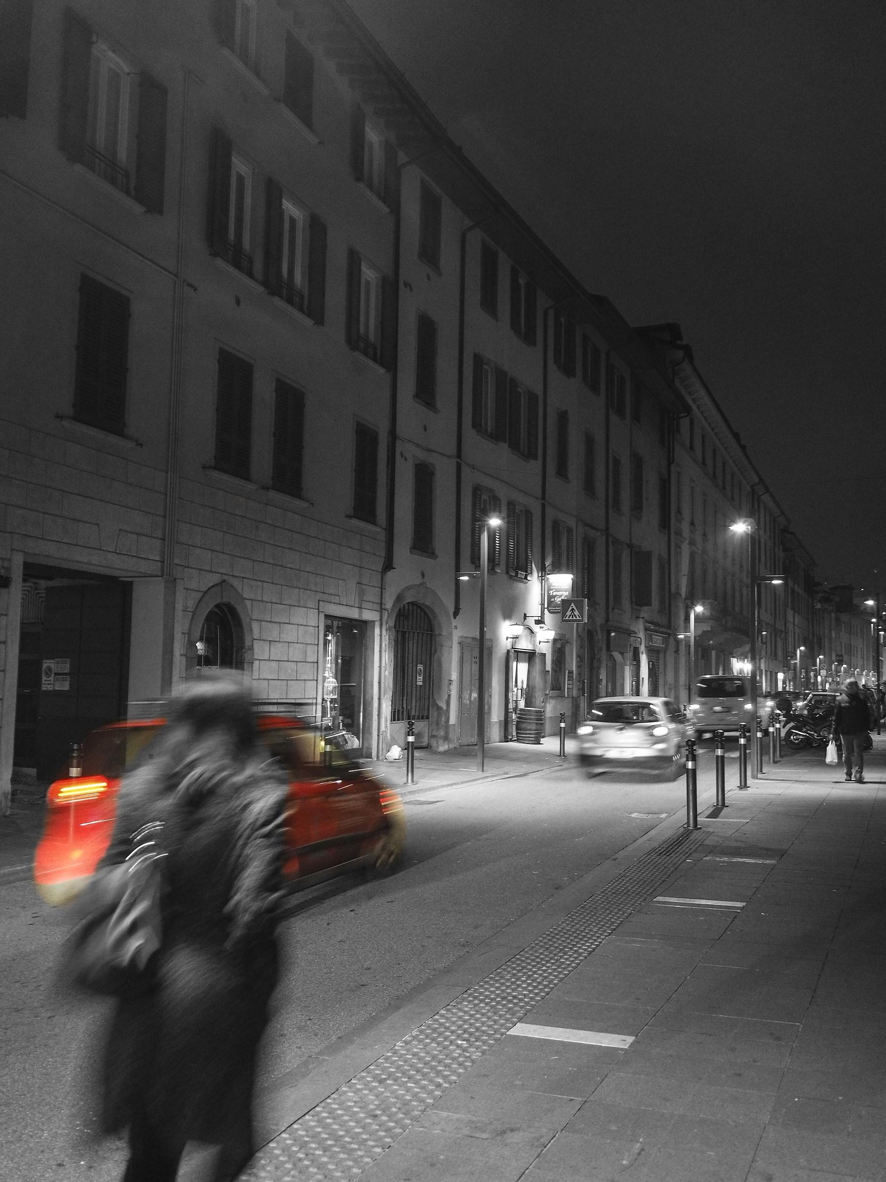 Bergamo, Via San. Bernardino...