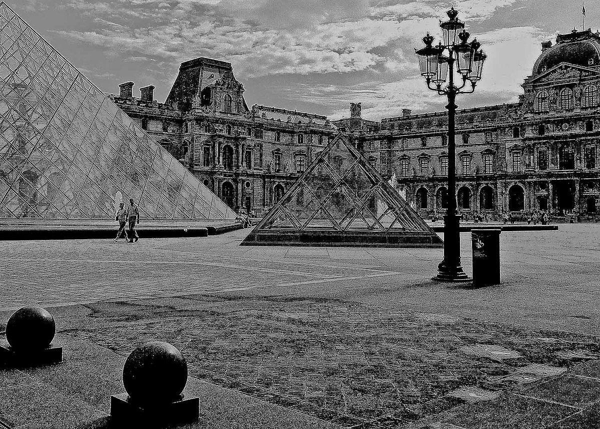 transparency and pyramids...