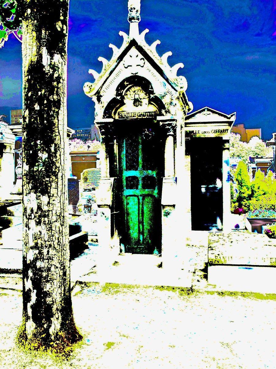 abstract colors montparnasse paris...