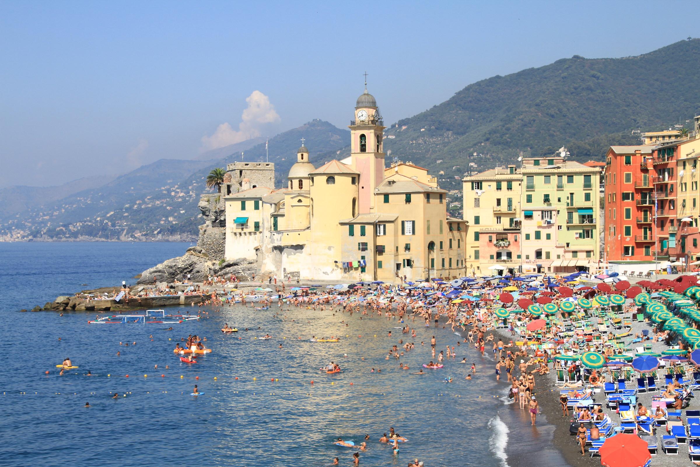 Camogli - Spiaggia a fine Agosto...