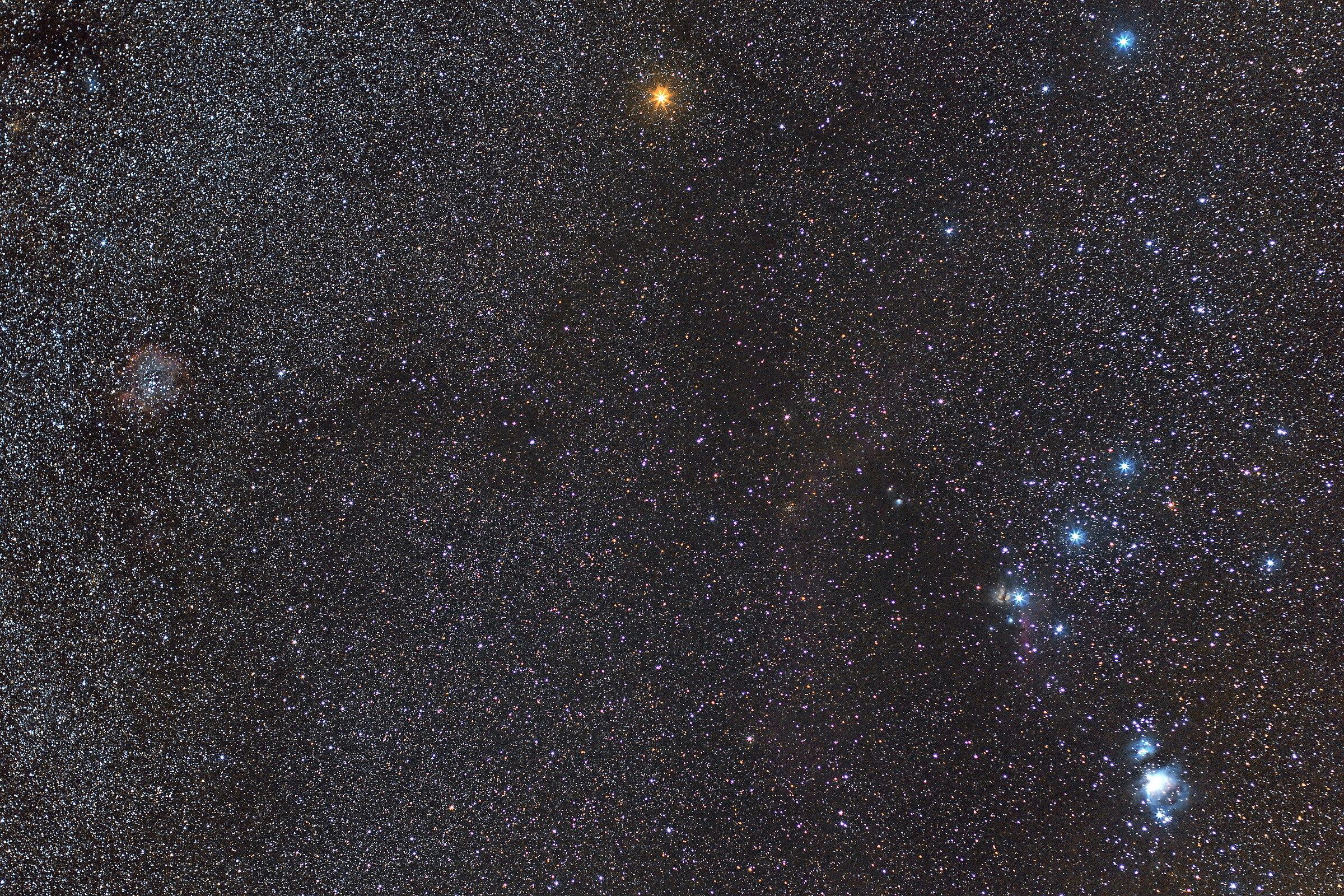 M42, Orion nebula & ngc2237, rosette nebula!...
