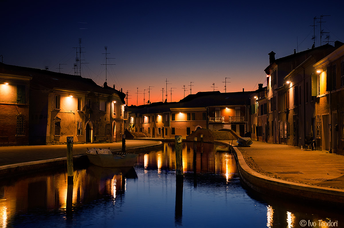 Comacchio the old city....