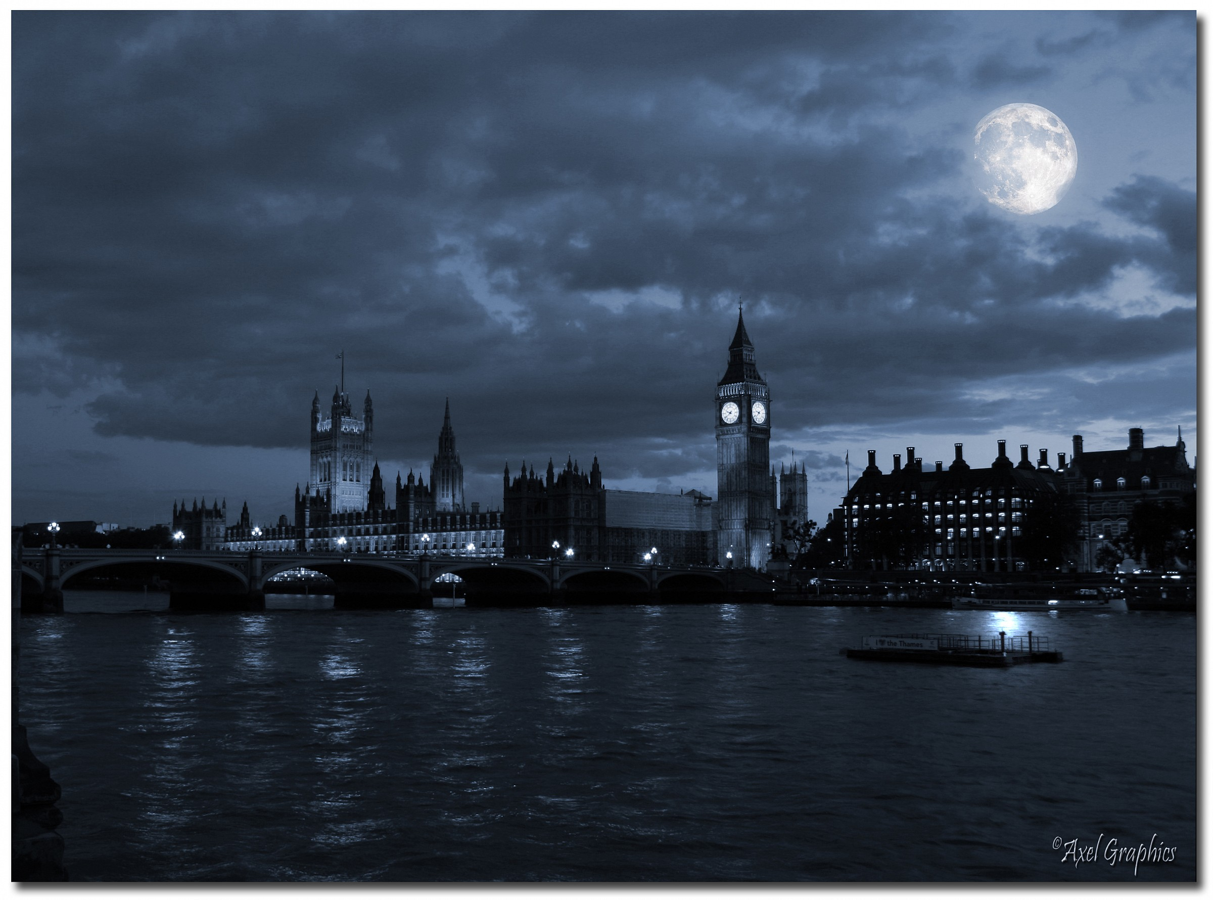 Big Ben's Moon...
