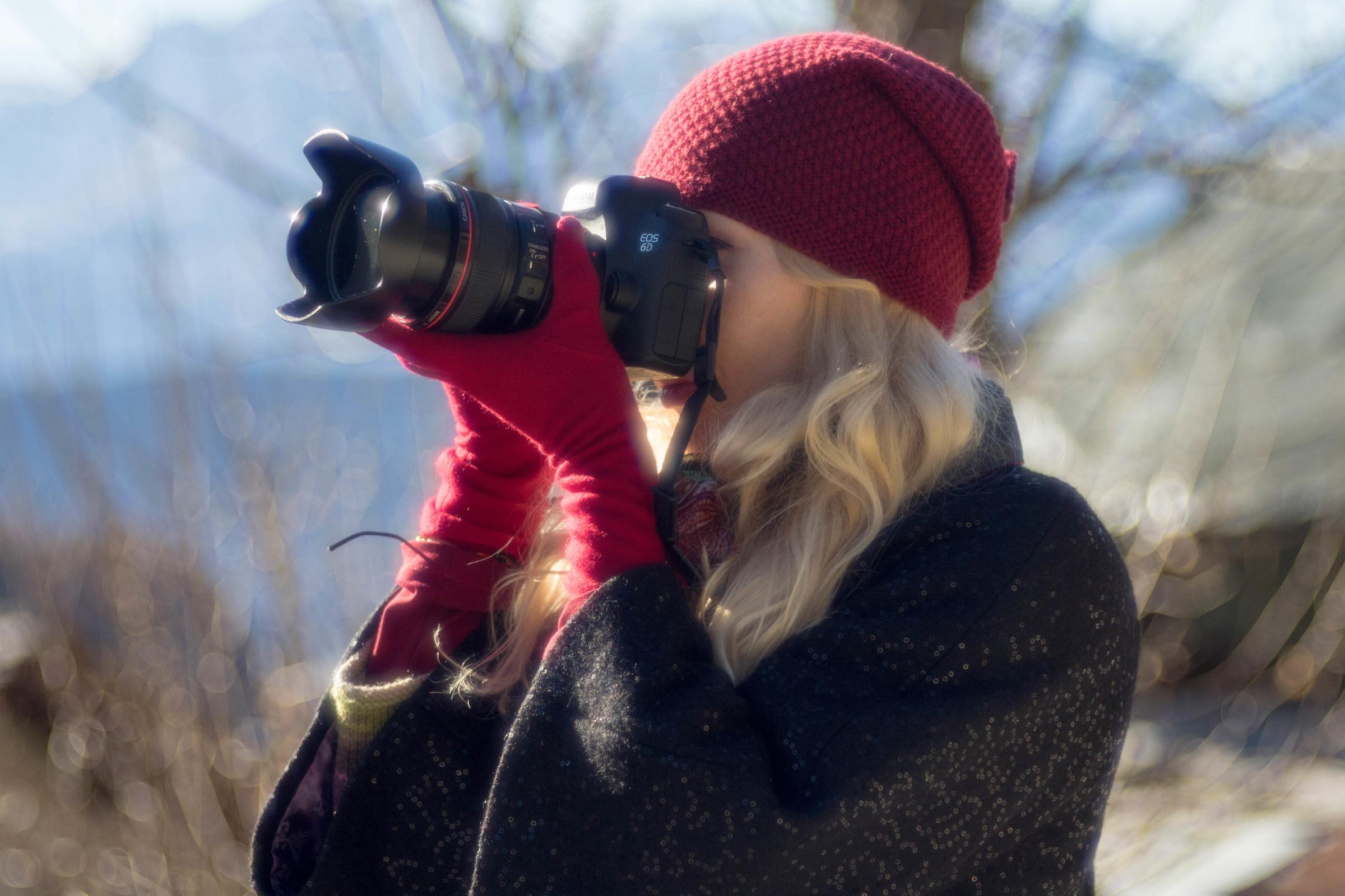 Fotografando...
