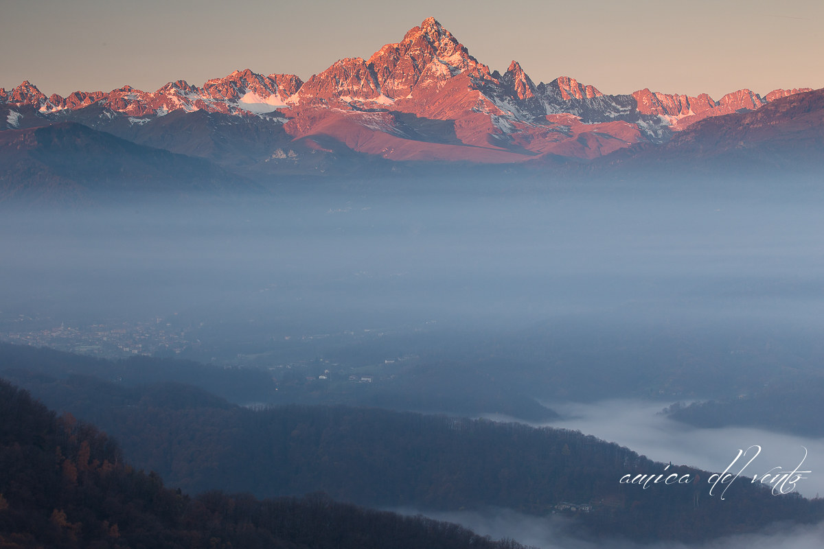 from above the fog...