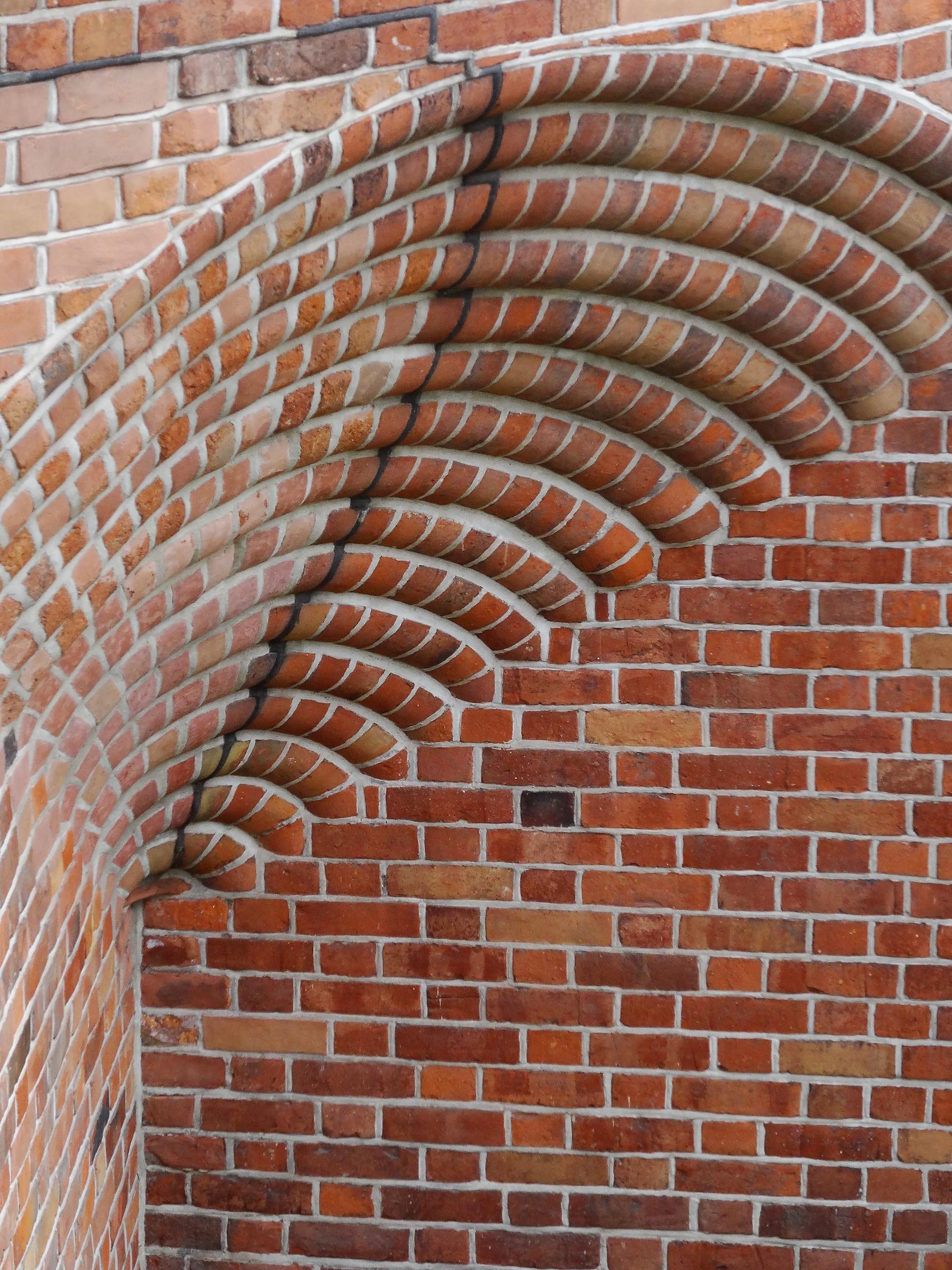 Detail of Warsaw Barbican...