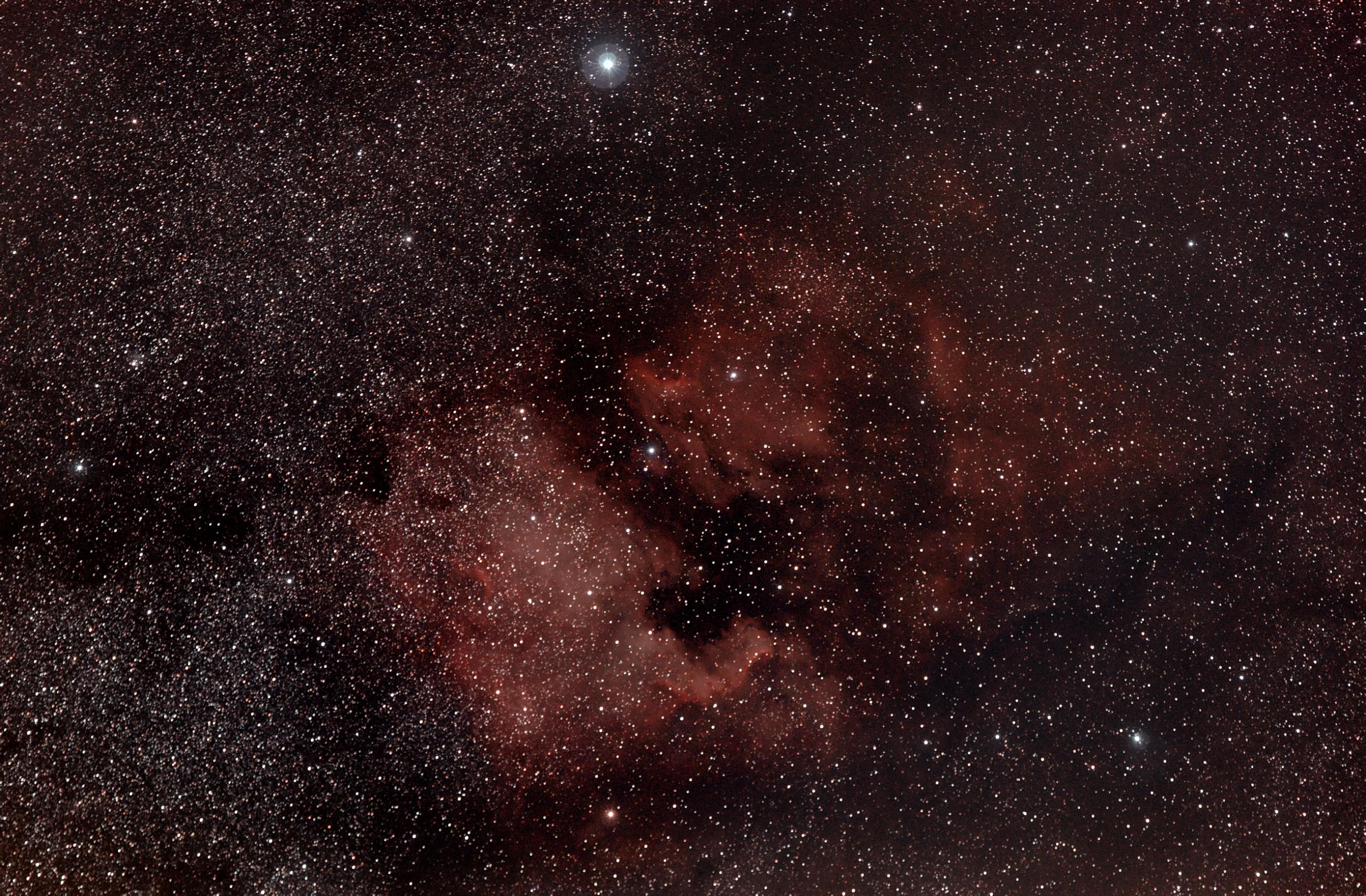 nebulosa nord america...