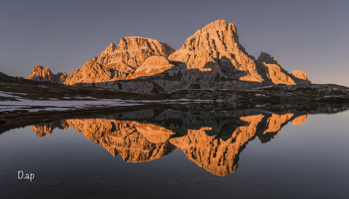 Reflections of the Dolomites...