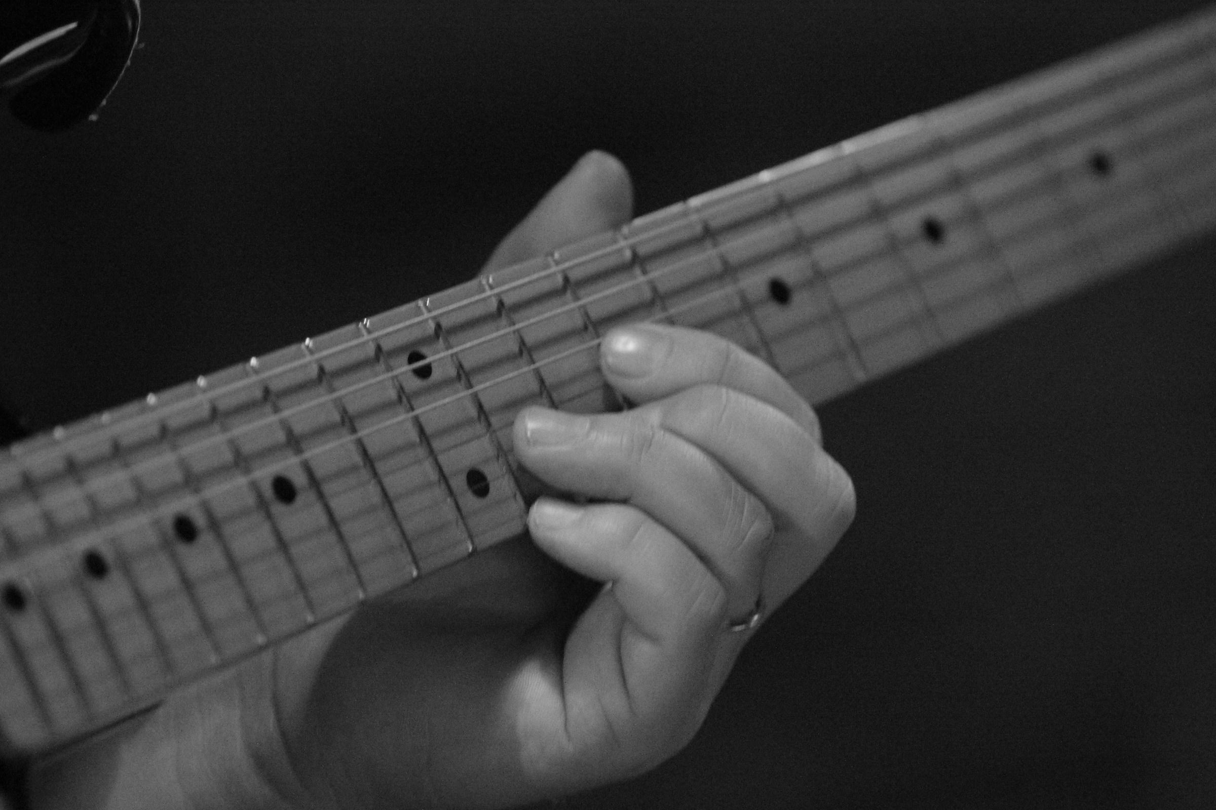 play guitar...
