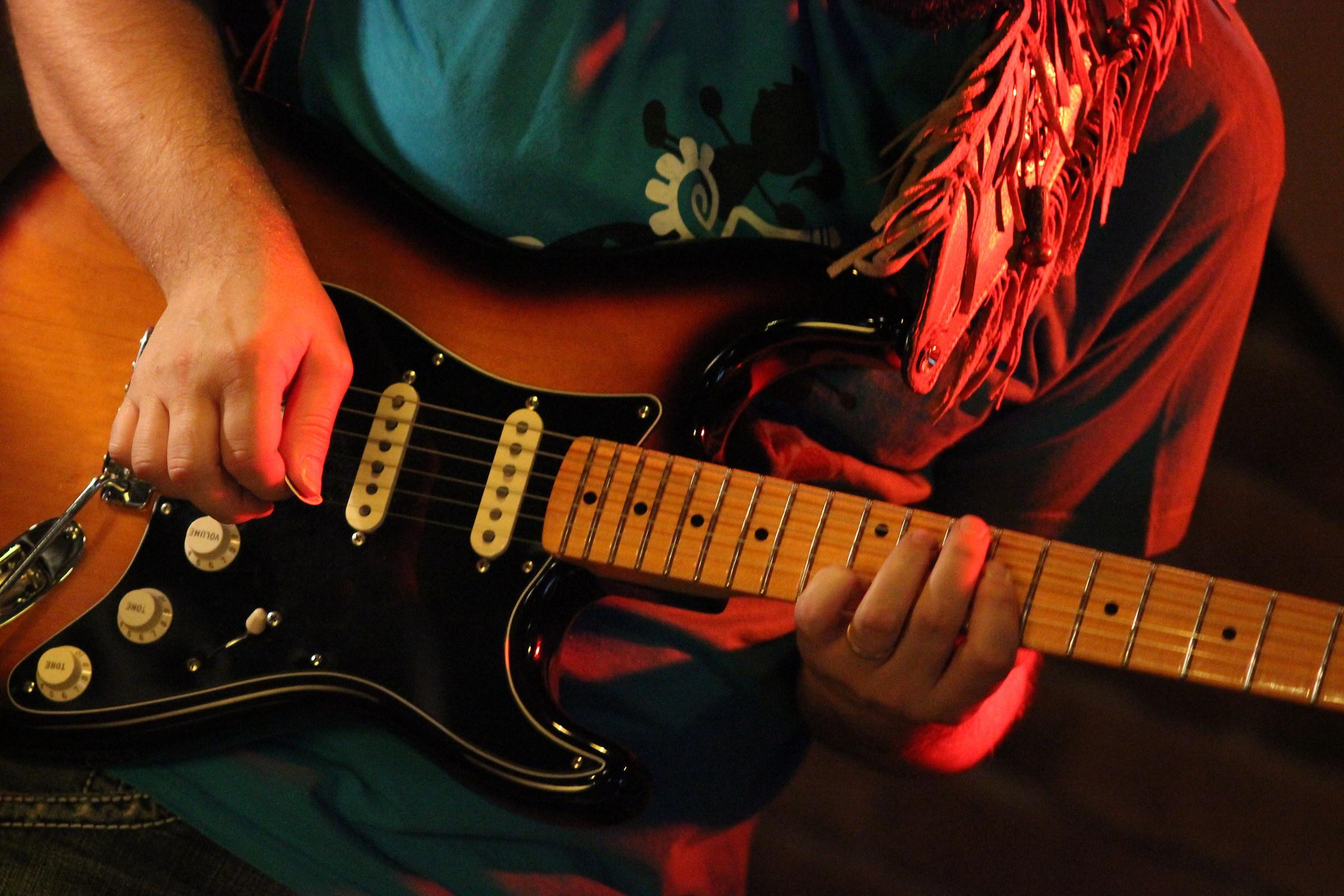 paul's guitar...