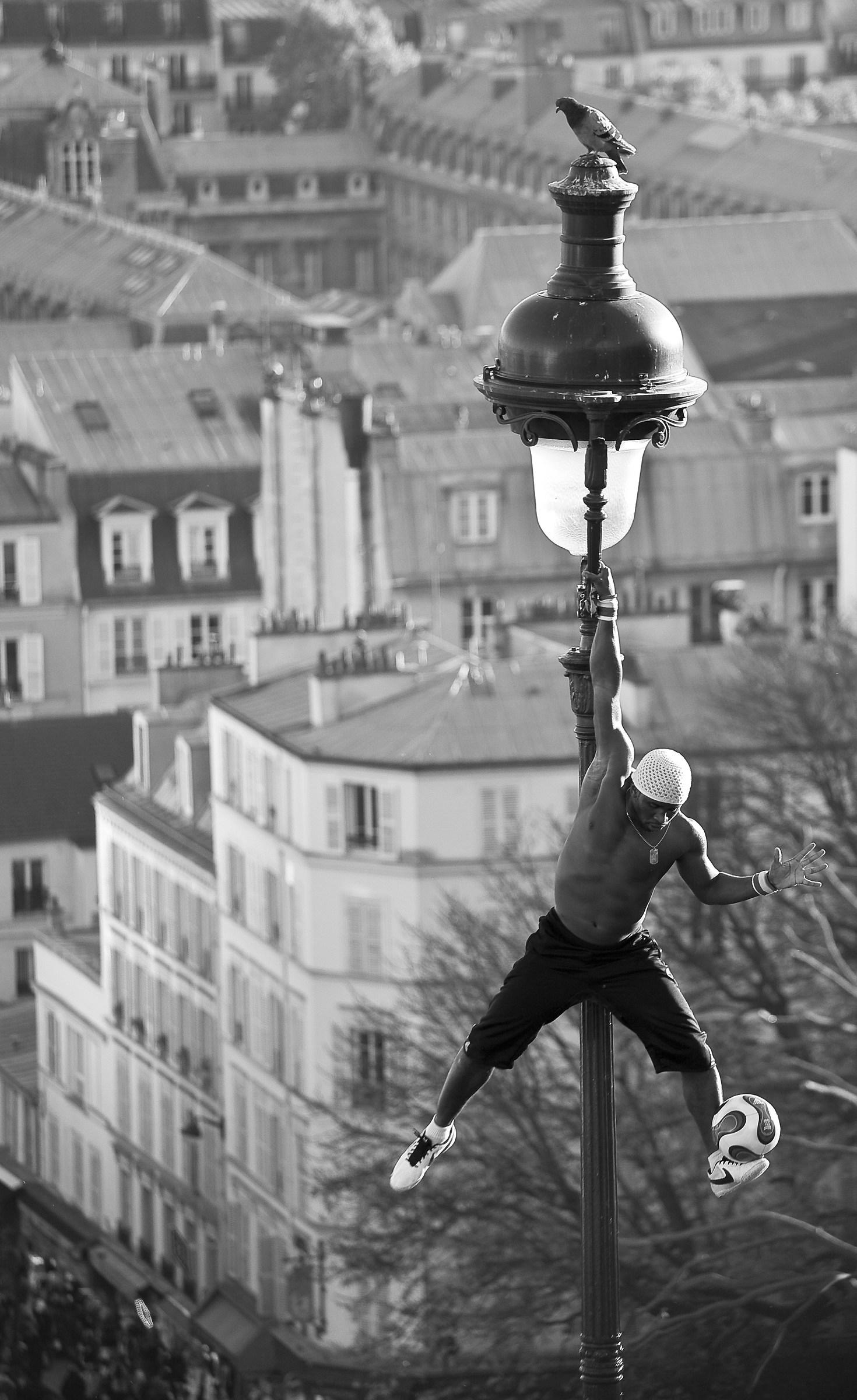 Street artist...