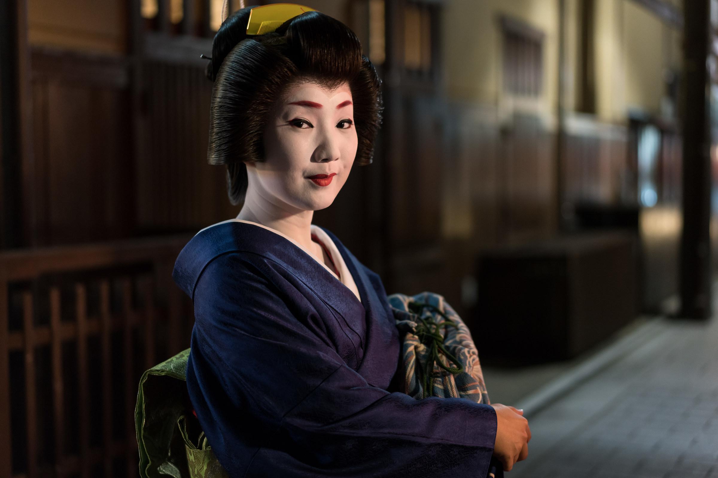 Geisha - Kyoto Gion...