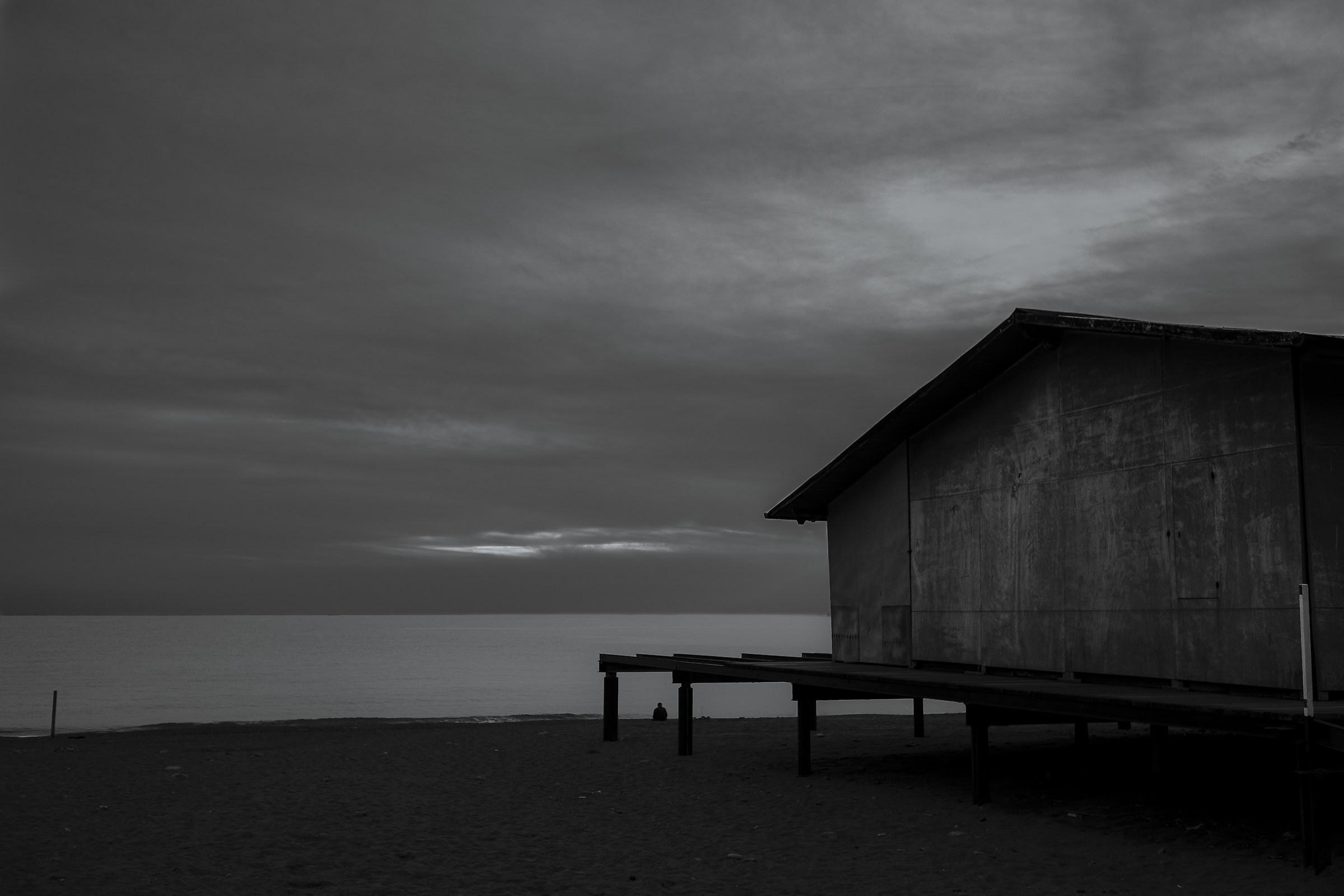 Beach Bonassola...