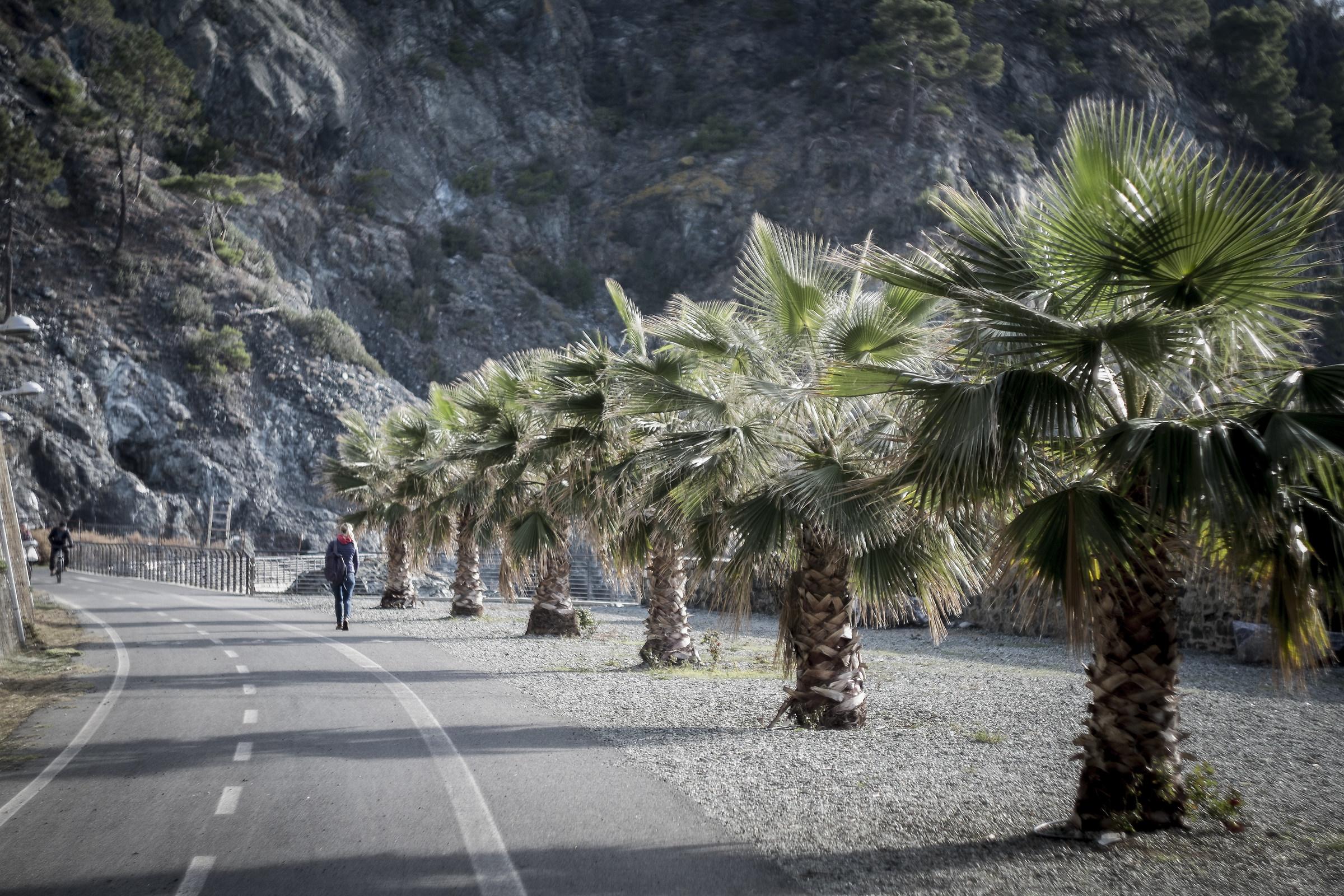 Pedestrian trail Levanto bonassola...