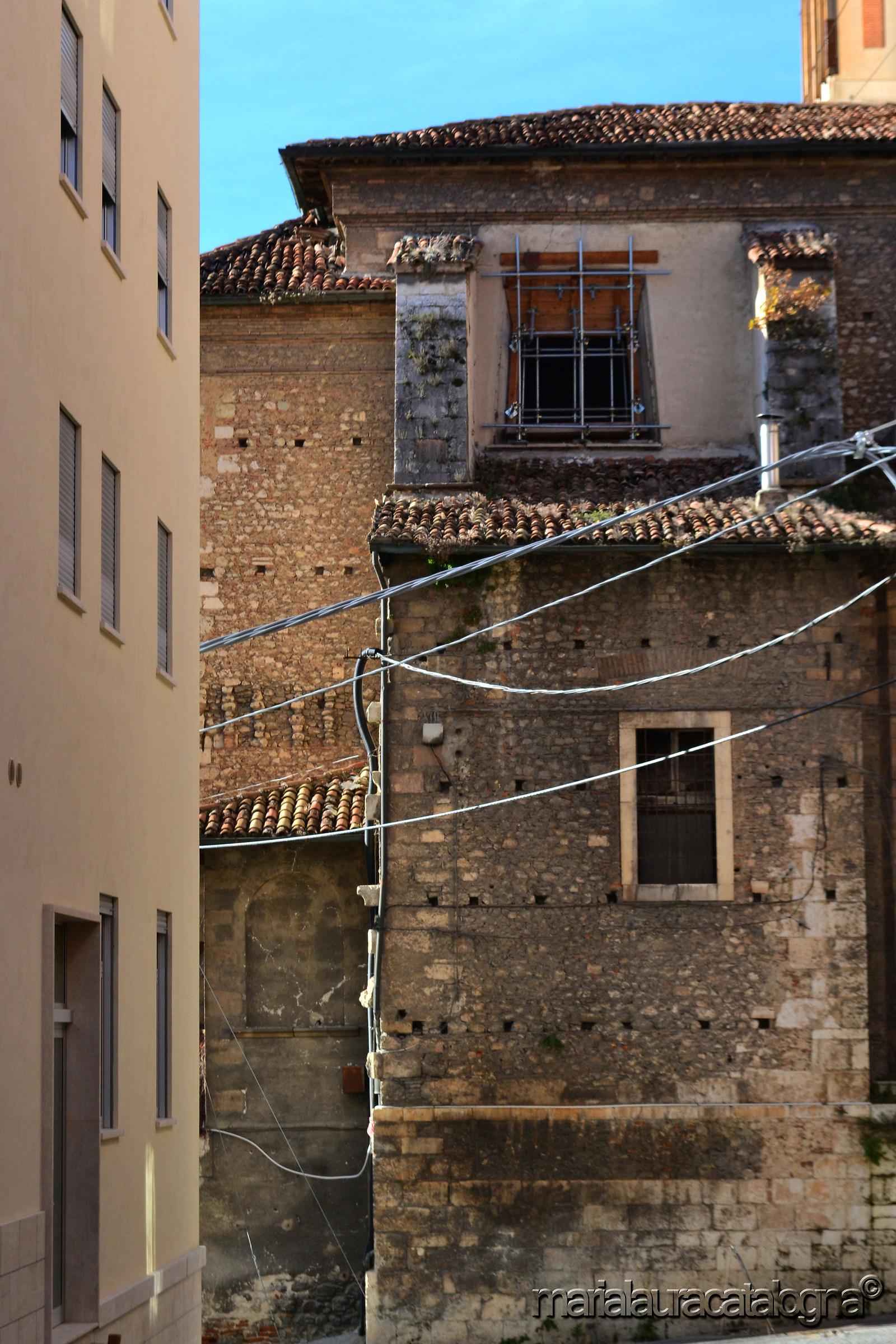 A home from Corso Federico II...
