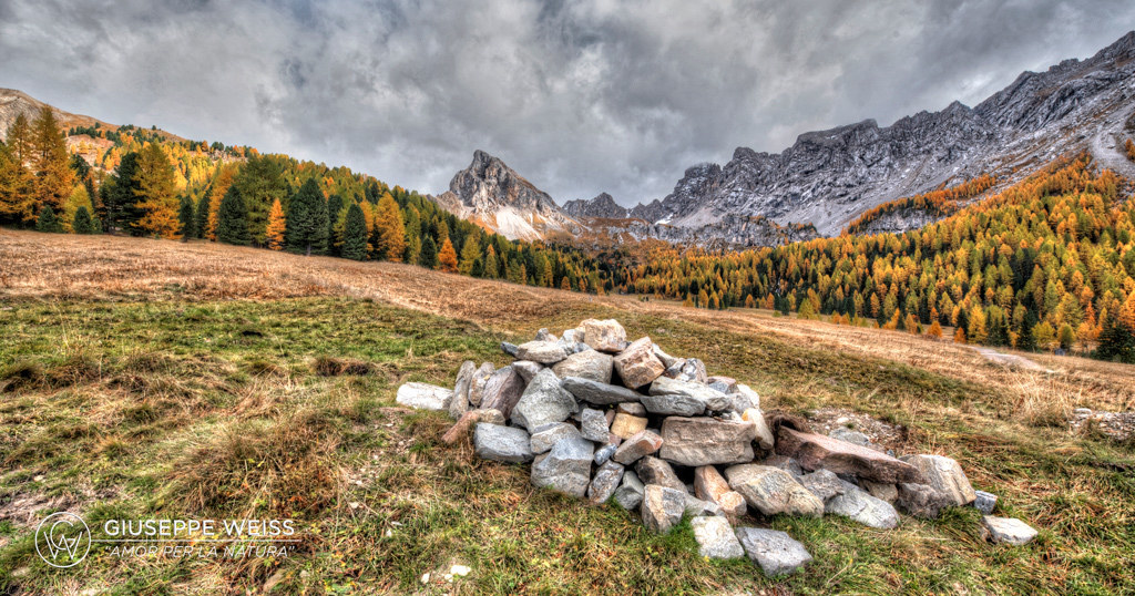 Those warm Autumn in Val San Nicolò...
