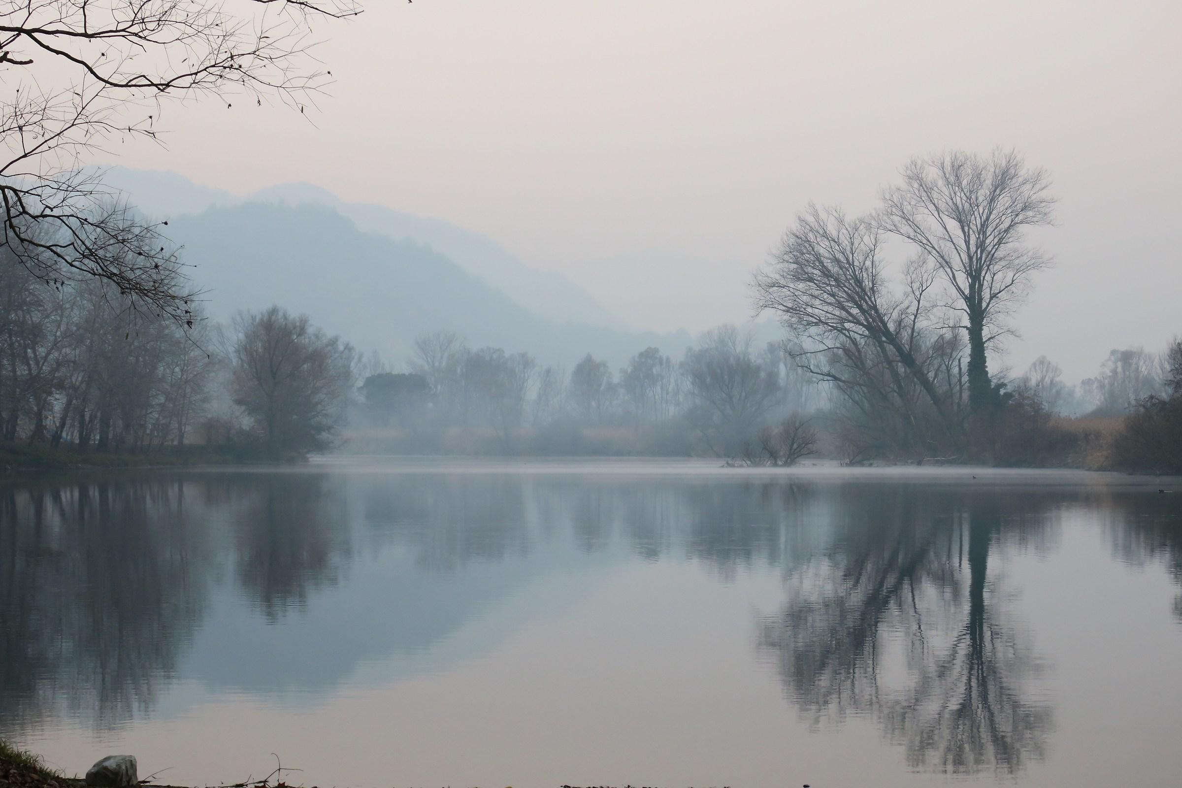 Adda, nebbia sul fiume 2...