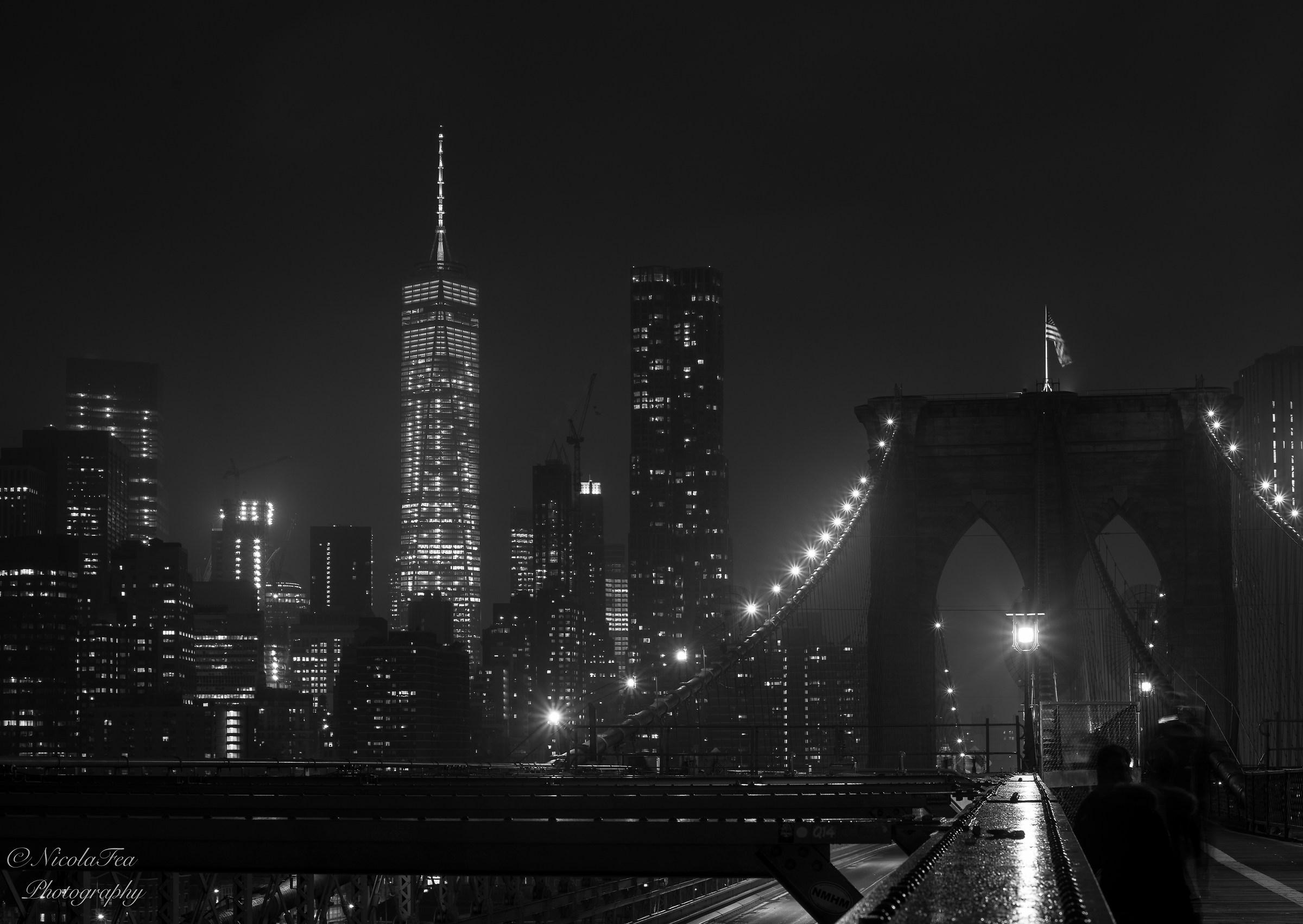Skyline from Brooklyn Bridge...