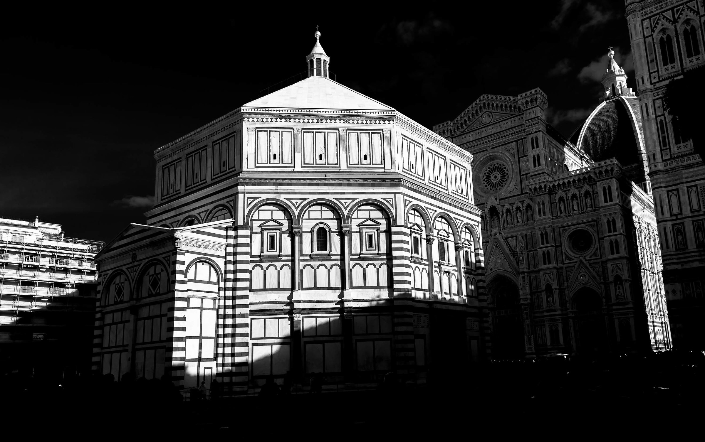 Baptistery virtual infrared...